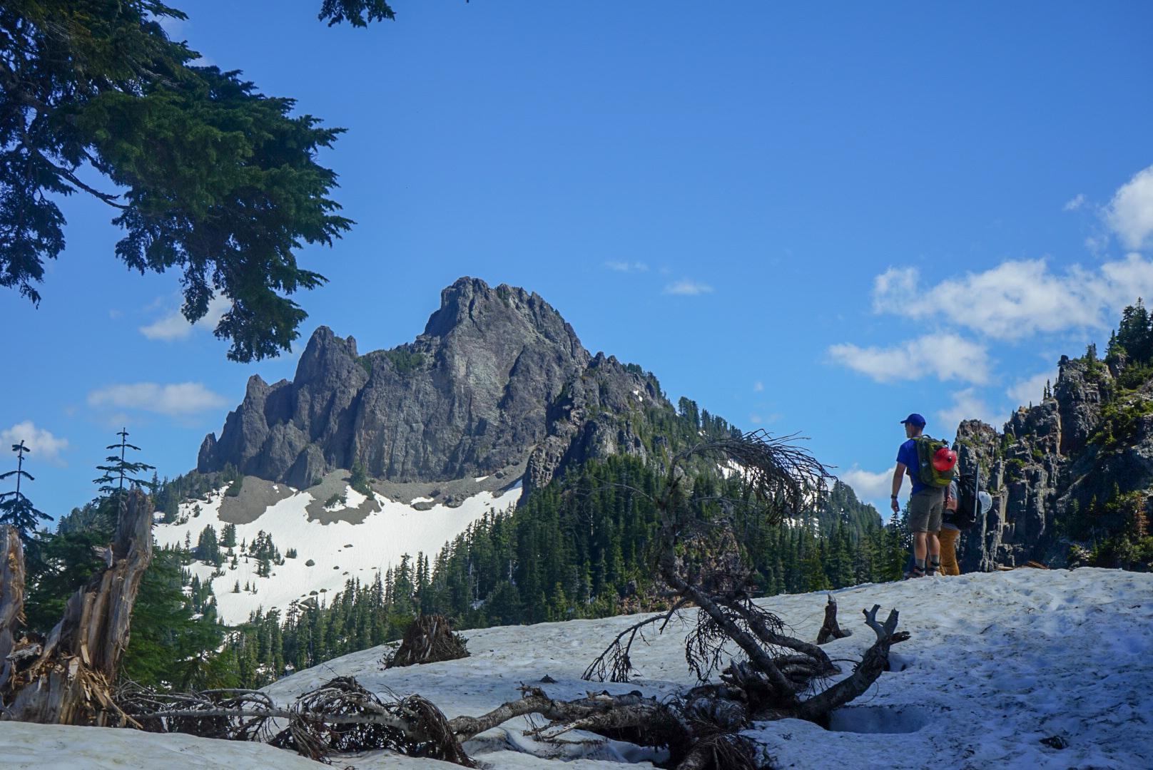 First views of Mt. Forgotten