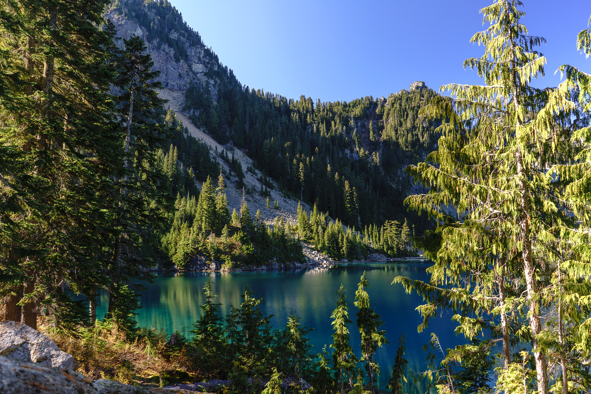 How many Marmot Lakes are in this state?