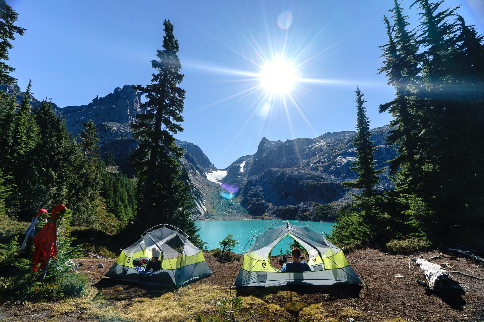 Camp at Jade Lake
