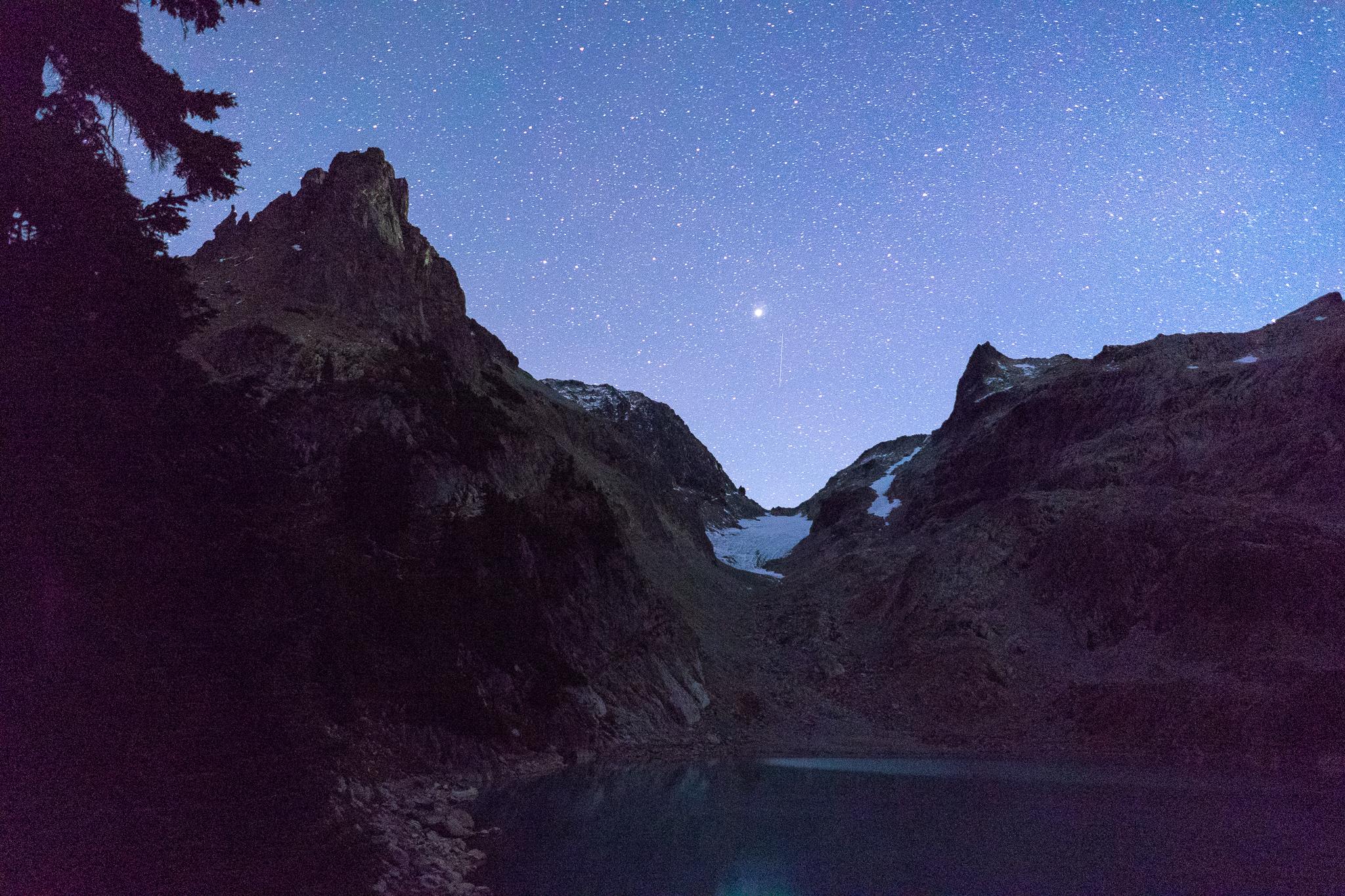 Jade Lake night sky
