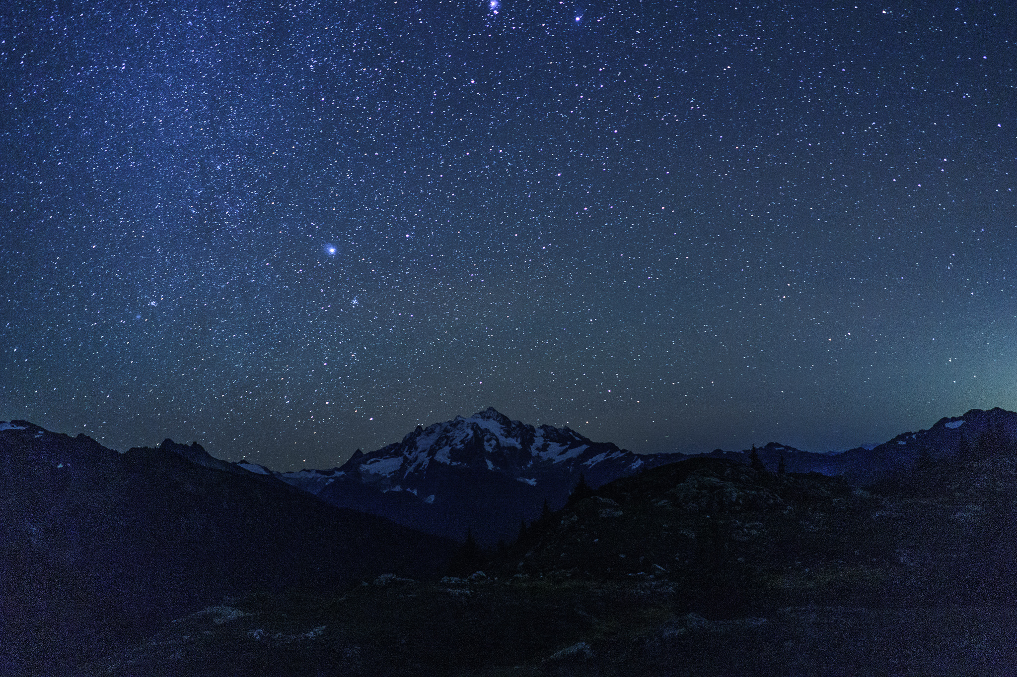 The stars were INSANE