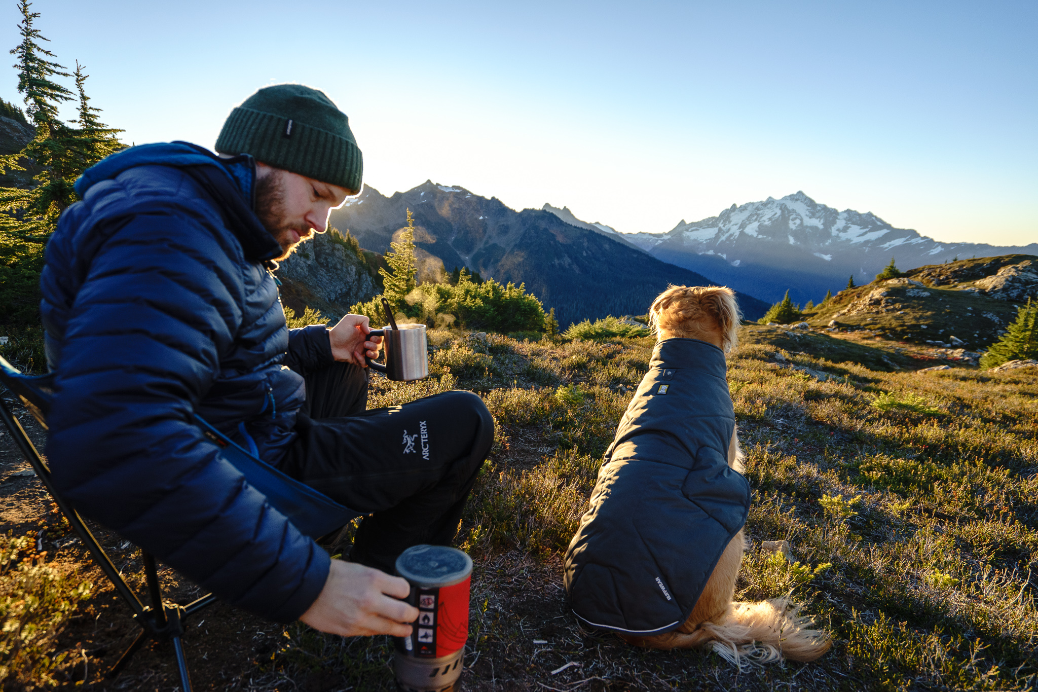 I'll take my morning coffee with a side of Mt. Shuksan, thanks