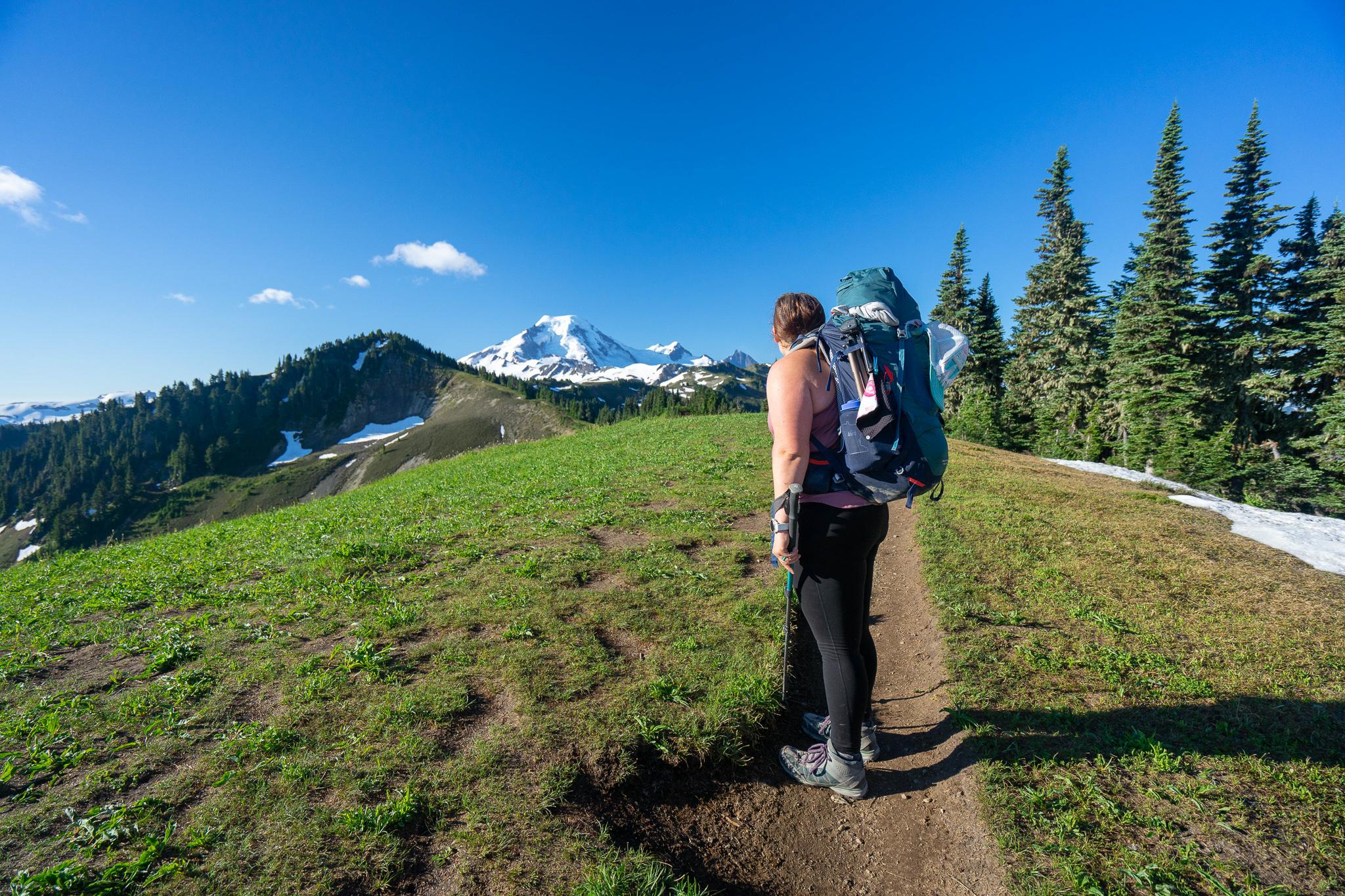 Tagging Mt. Baker Wilderness instead of Skyline Divide