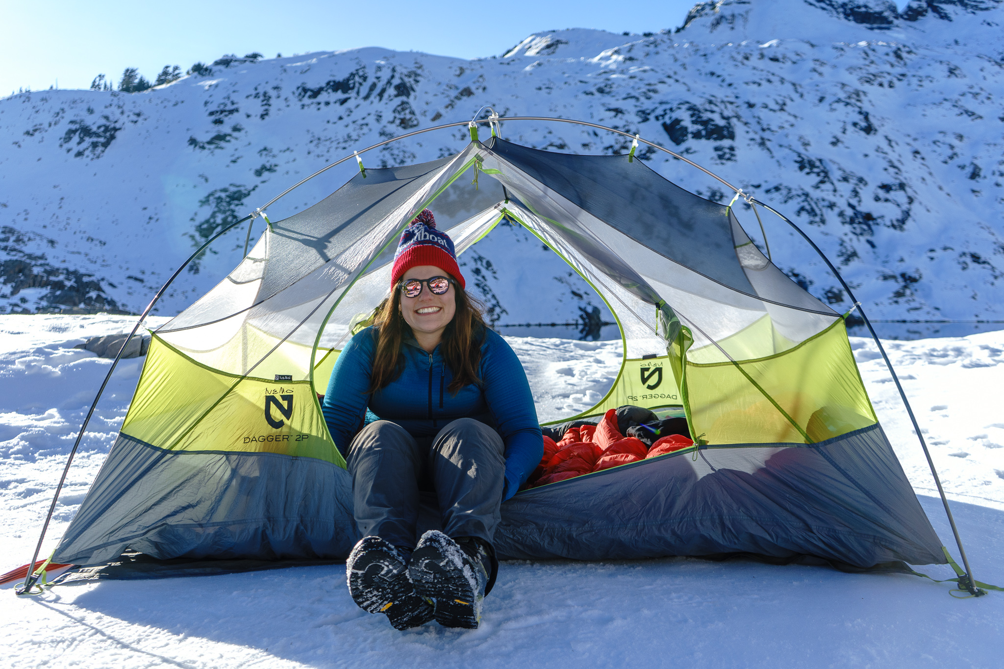 3 season tents are fine for snow camping as long as it isn't too windy or snowing too much