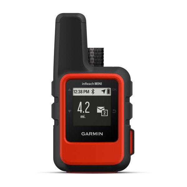 Garmin InReach Mini connects with an app on your phone to text those back home. SOS button on the side of the device.