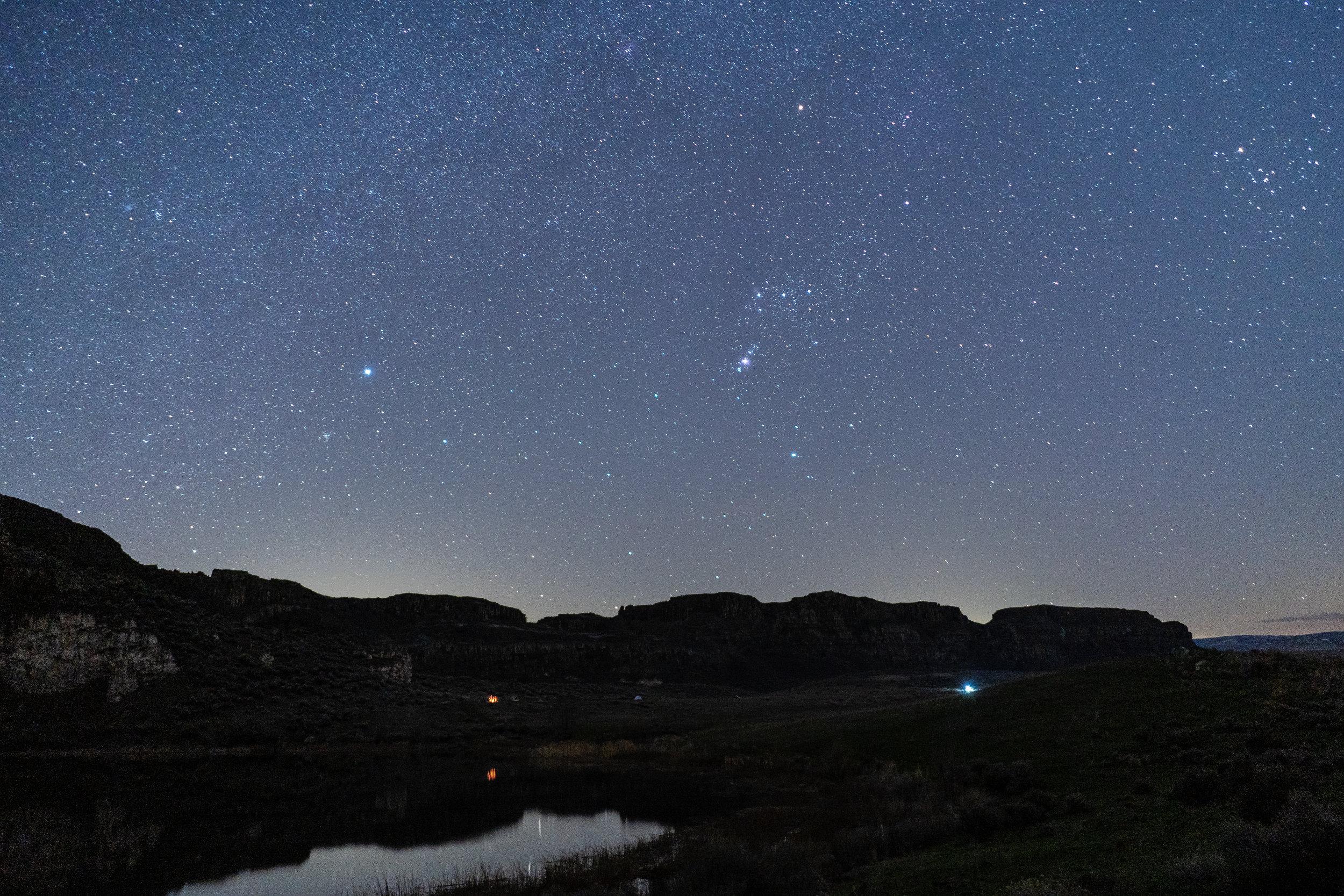 Night sky part 1