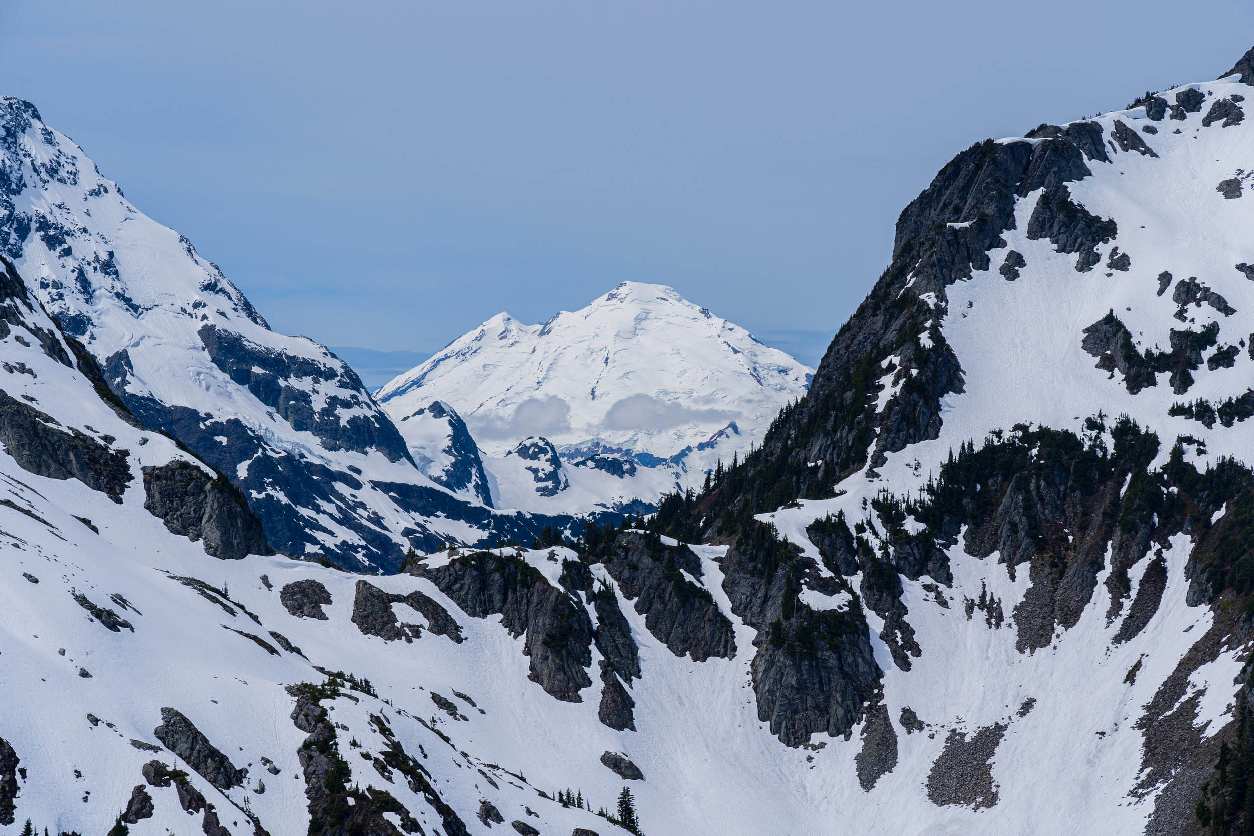 Mt. Baker perfectly framed