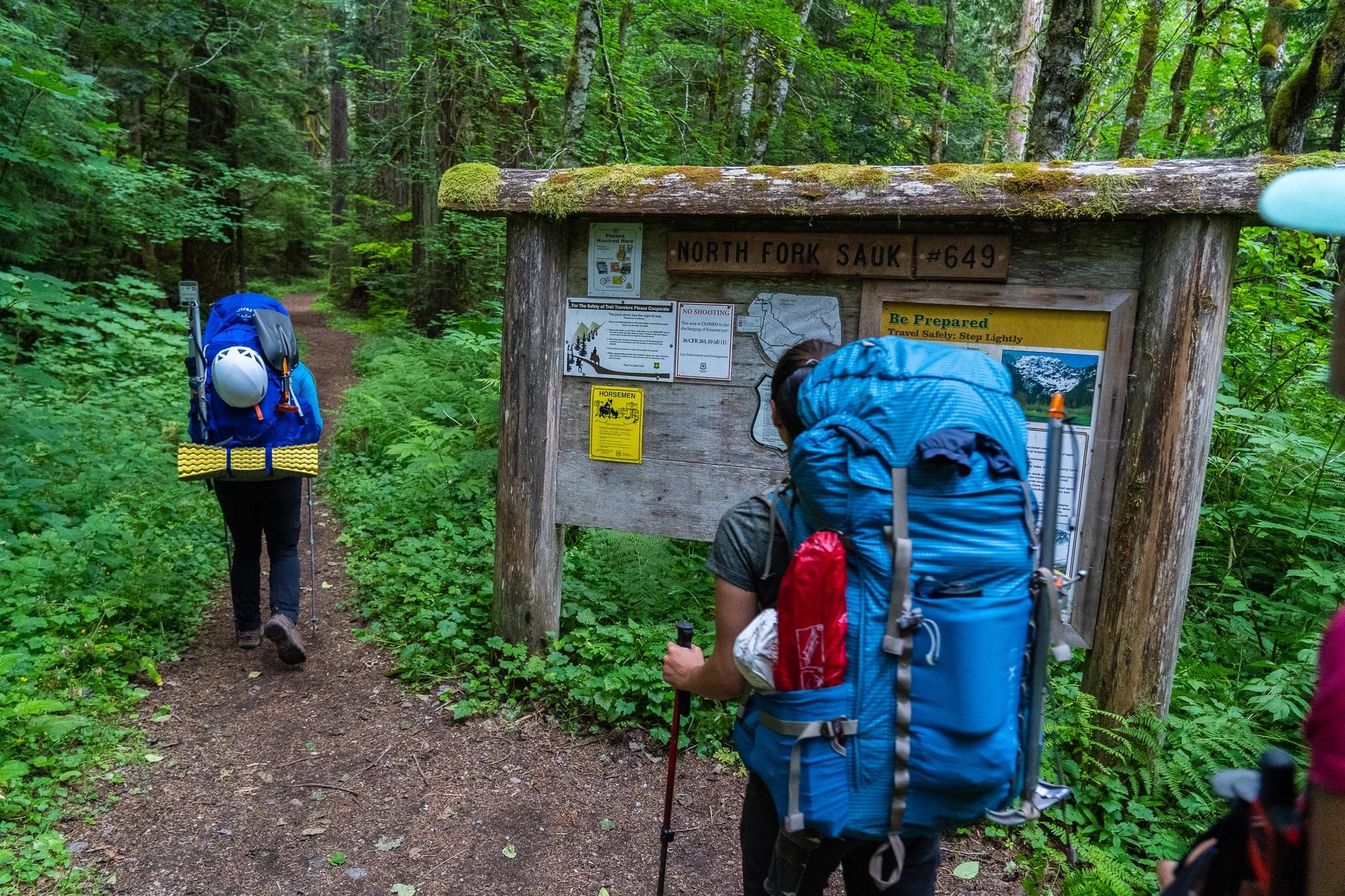 North Fork Sauk Trailhead