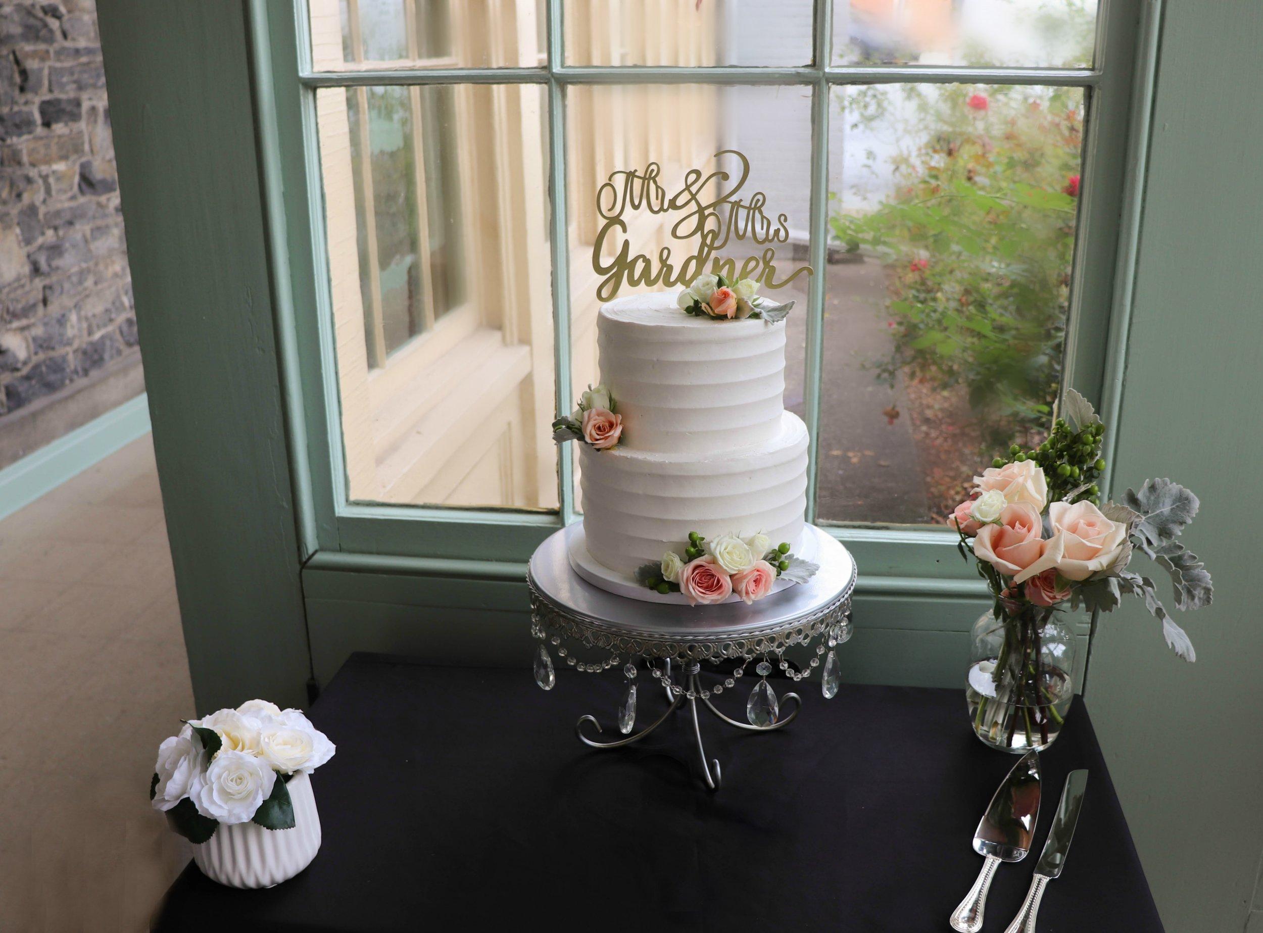 Buttercream Wedding