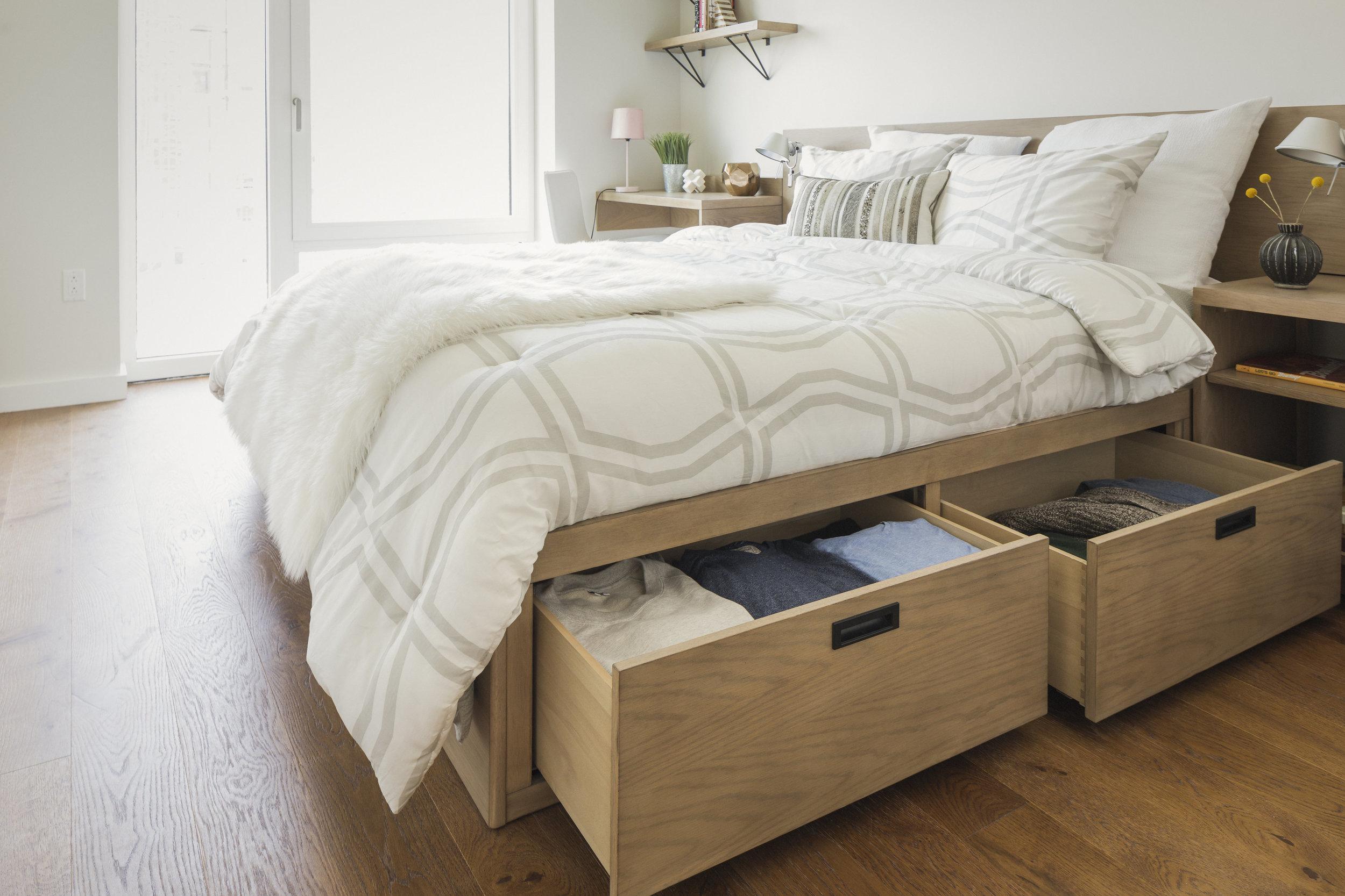 Bed & Storage