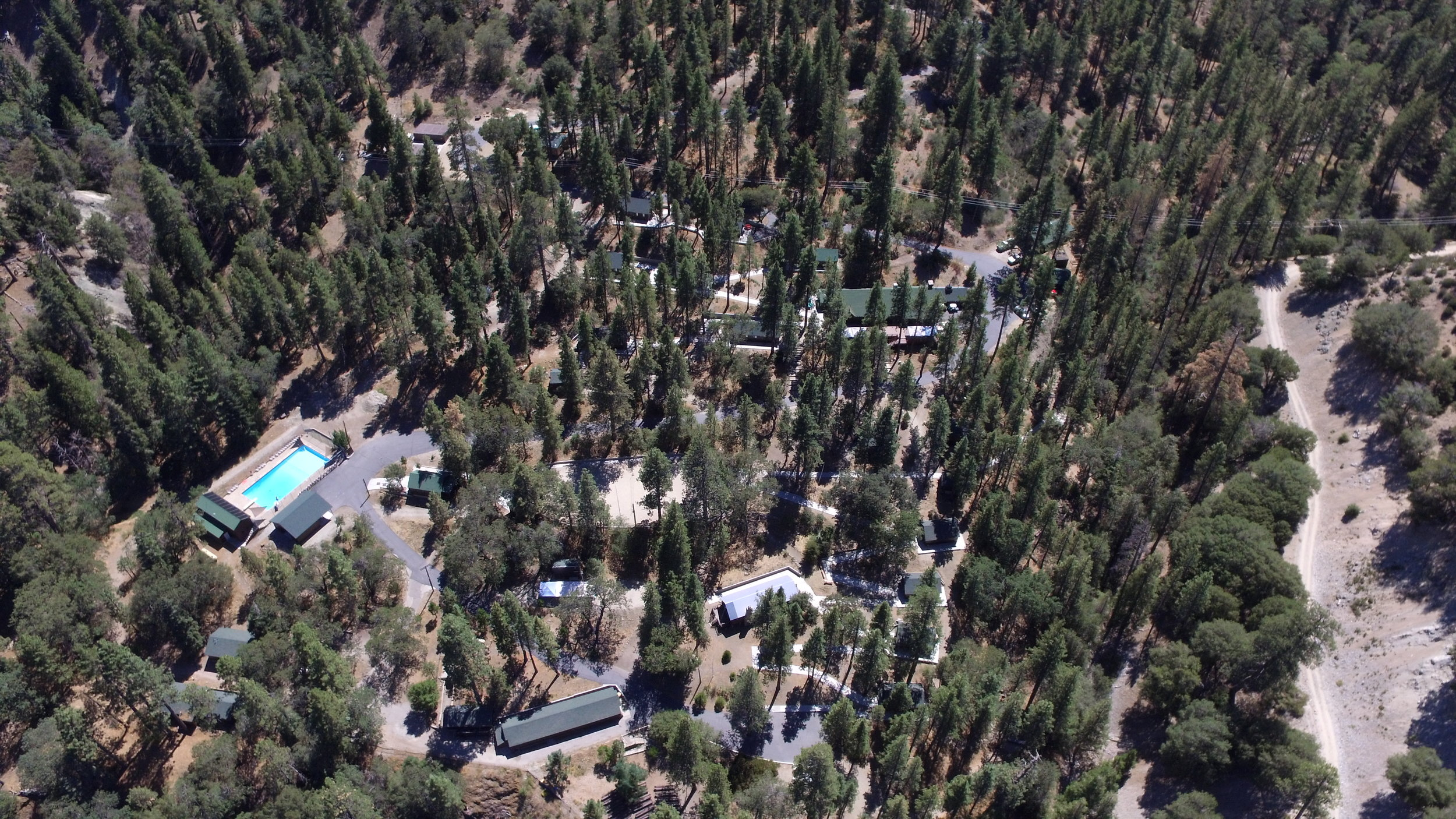 The camps - Teresita Pines Village, Wrightwood Village, and the Lions Den
