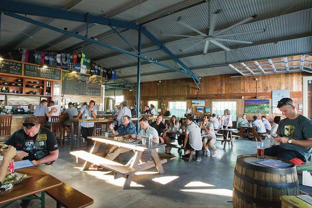Honolulu Beerworks - Excellent brews and bars foods in Kaka'ako.  http://www.honolulubeerworks.com/