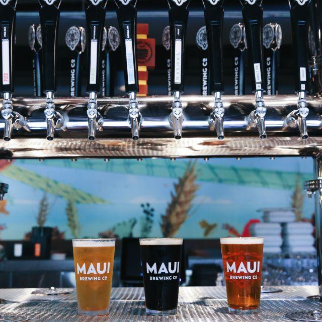 Maui Brewing  https://www.mbcrestaurants.com/waikiki/