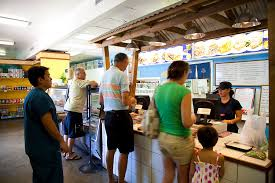 Yama's Fish Market for poke and Hawaiian plates.  http://www.yamasfishmarket.com/