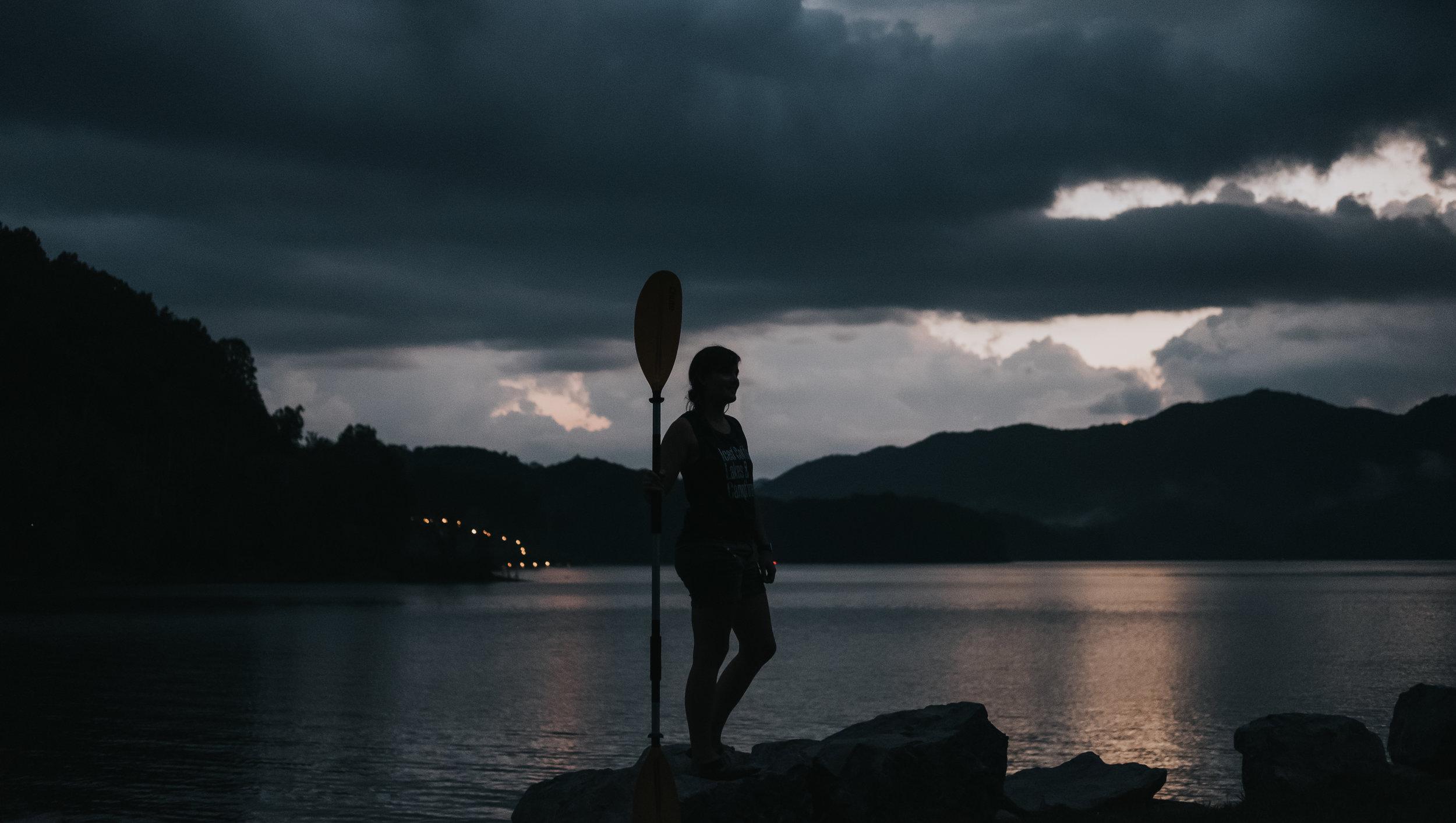 sunset- watauga lake- hampton tn- east tn- lakelife