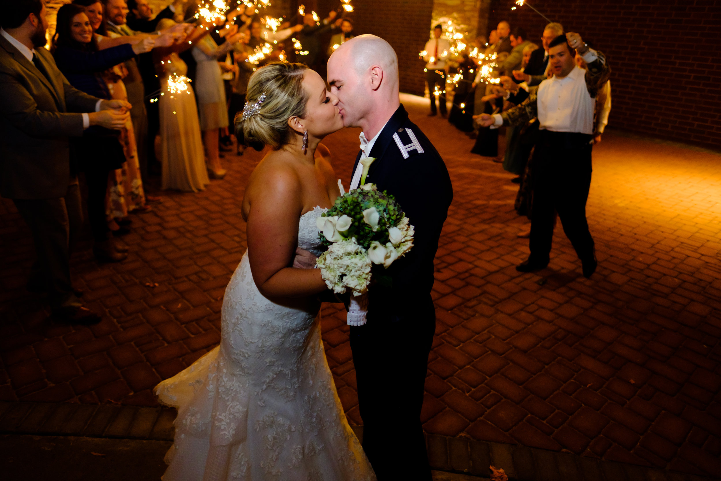 #meadowviewconventioncenter #militarywedding #sparklerexit #wedding #kingsporttn #magmod