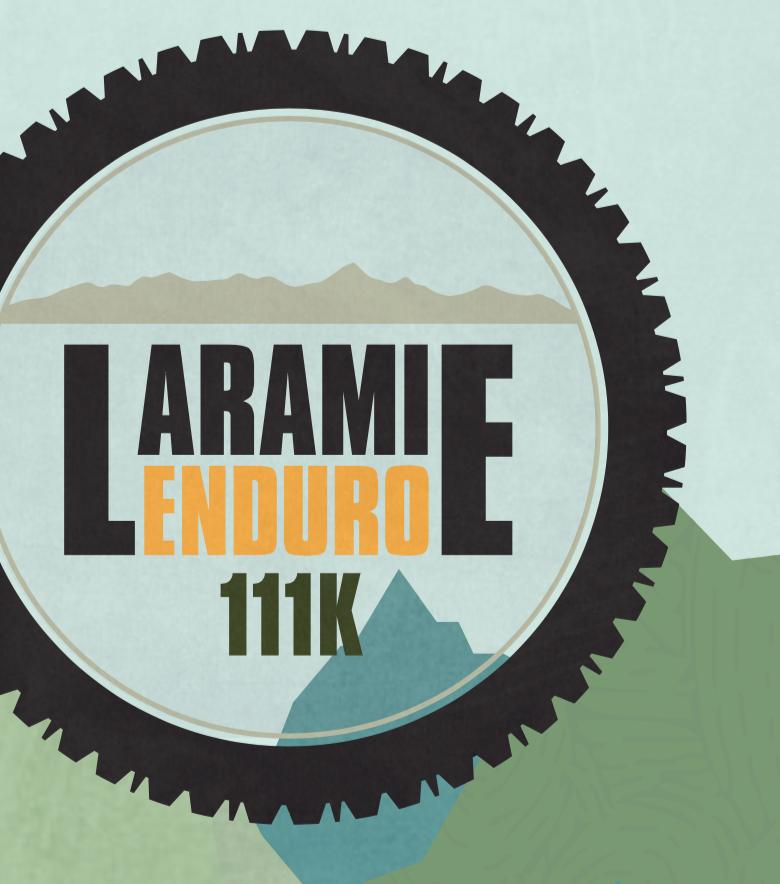 LARAMIE RANGE ENDURO (EPIC) BIKE RACE Logo concepting, design and merchandise application