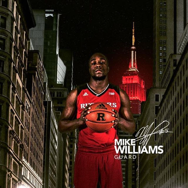 Back @thegarden tonight as @_mikewill_5 and @rutgersmbb take on @indianambb - Let's go Mike! #thecity #thecitybasketball #madisonsquaregarden #b1g #b1gatmsg