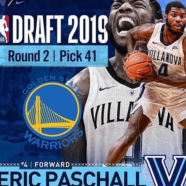@warriors with the steal of the draft! Dub nation congrats! More championships to come!!!!! @epaschall4 has dominated and won at every level. A true winner! #citypride #rookieoftheyear 👀