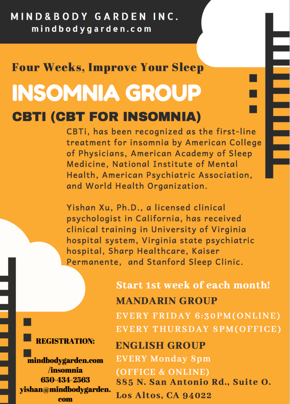 Mandarin-English Insomnia Group