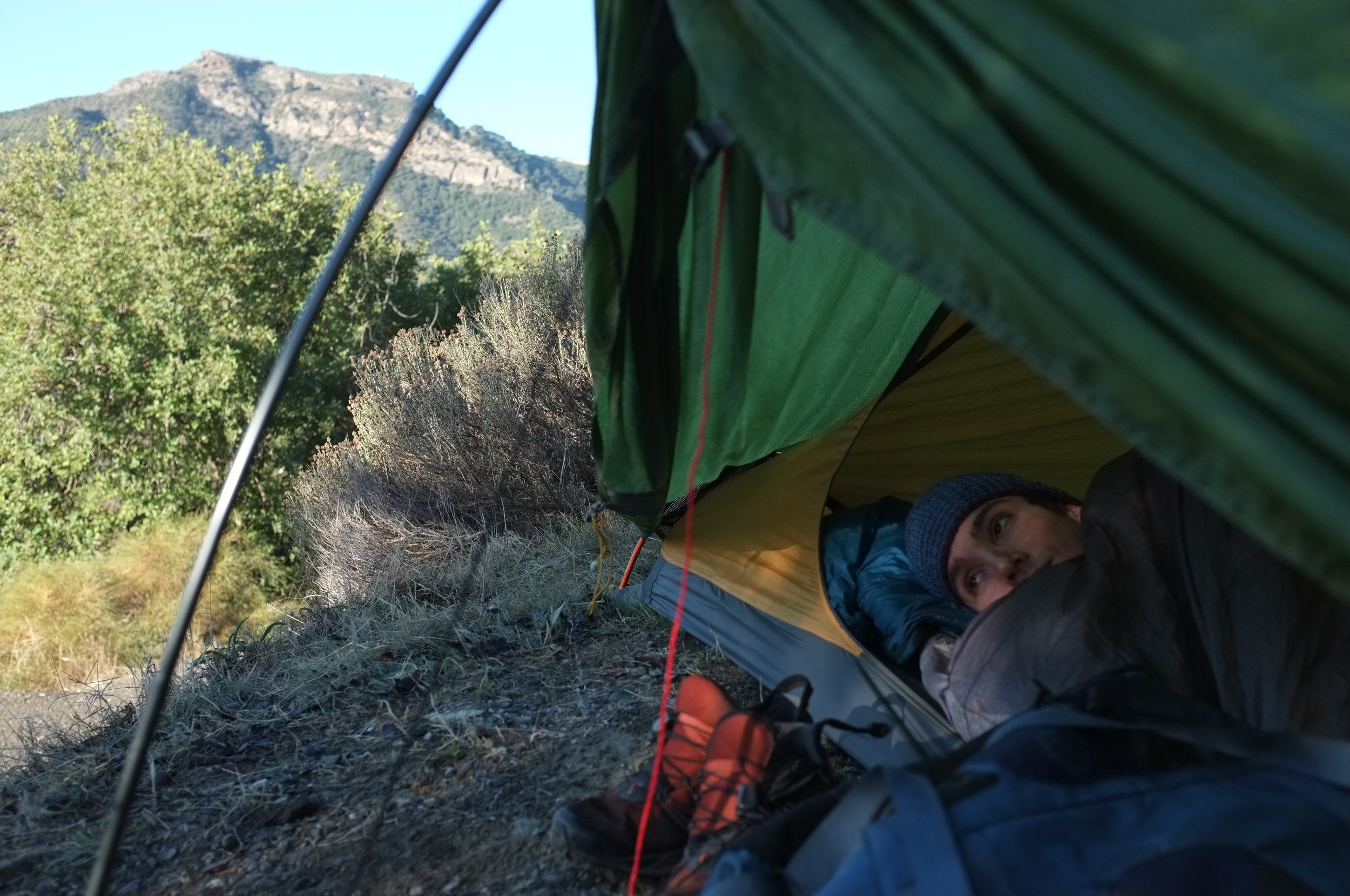 El Chorro Part II - The next part of your audible adventure is here! So put on some headphones, close your eyes and pretend you're camping and climbing with us in Chorro!