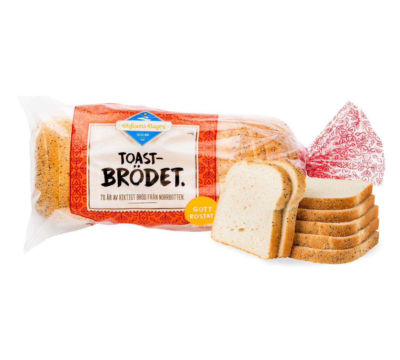 Toastbrödet .