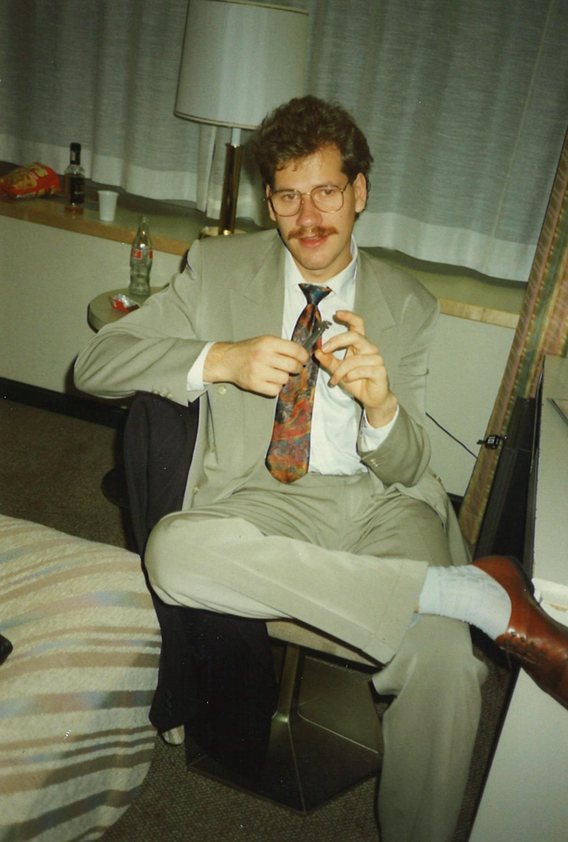 Bengt-Olof i Rovaniemi, året är 1990.