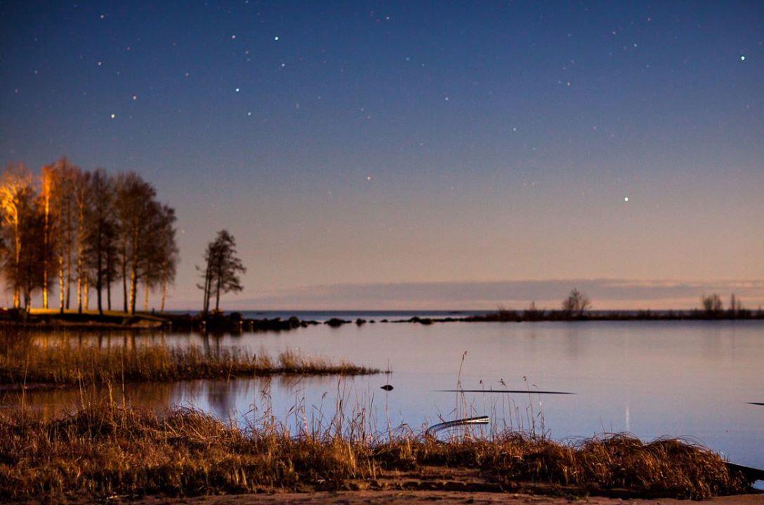 West Coast of Lake Väneren, Sweden.