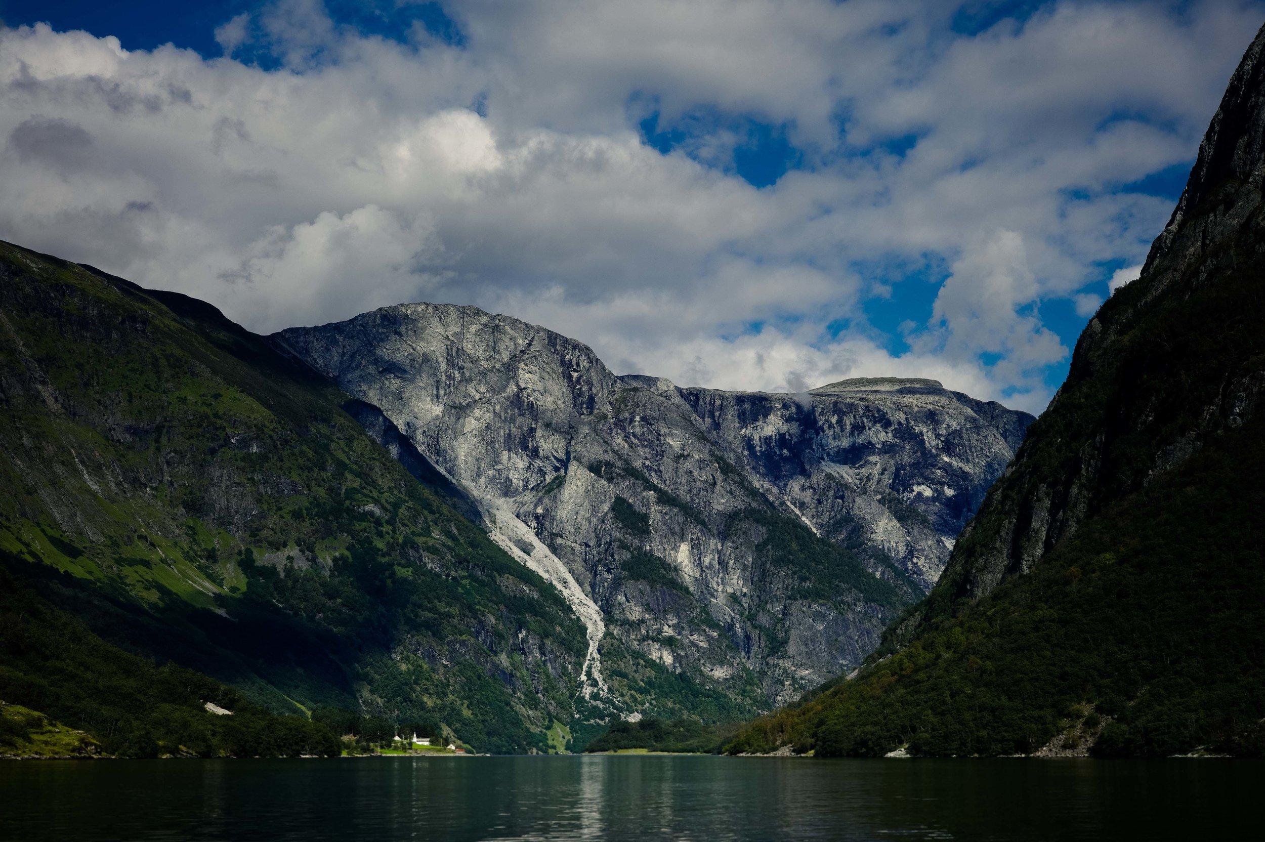 Aurlandsfjorden,Norway. Photo: Daniel Novello