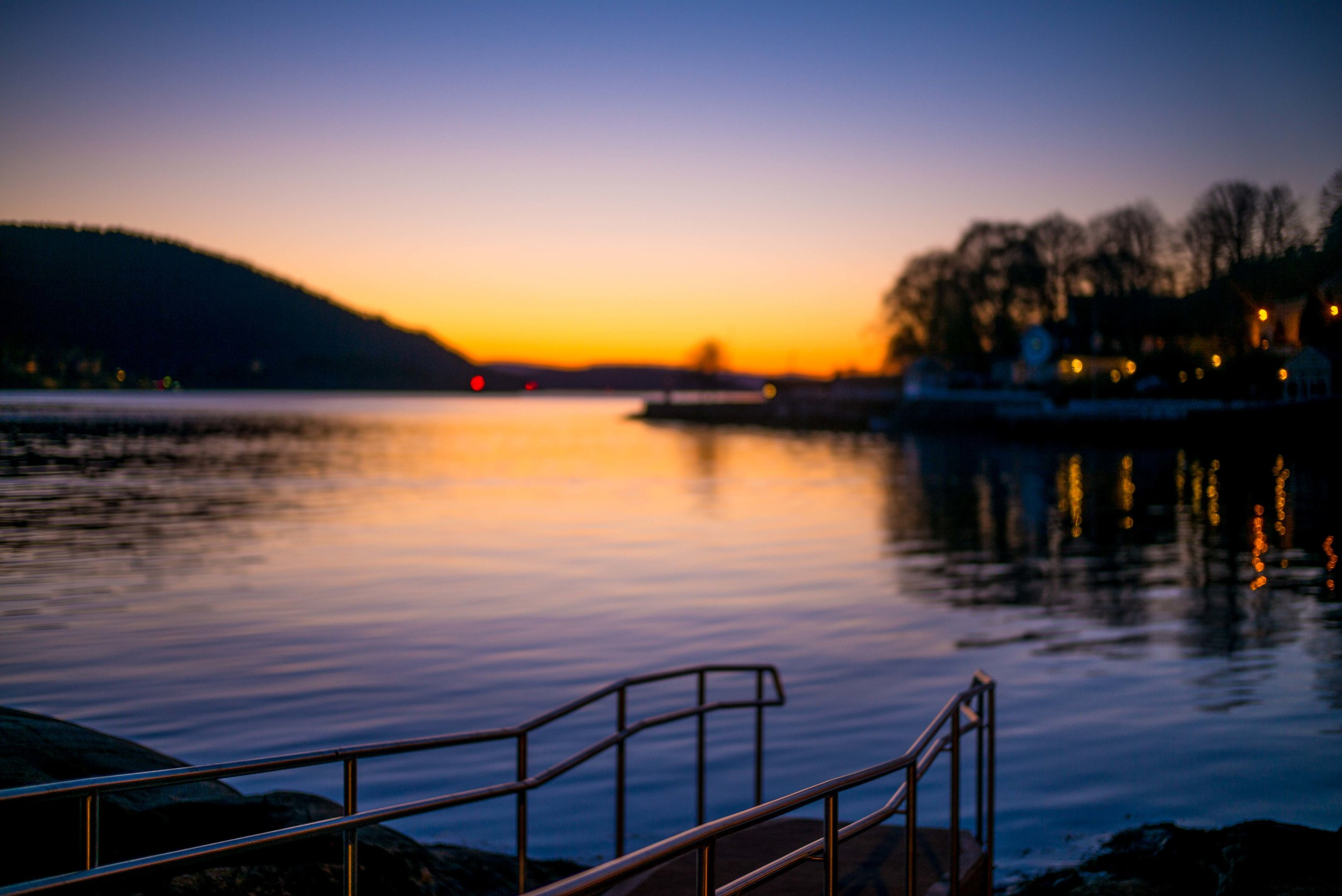 Parrstranda, Drøbak by the Oslofjord. Norway. Photo: Daniel Novello