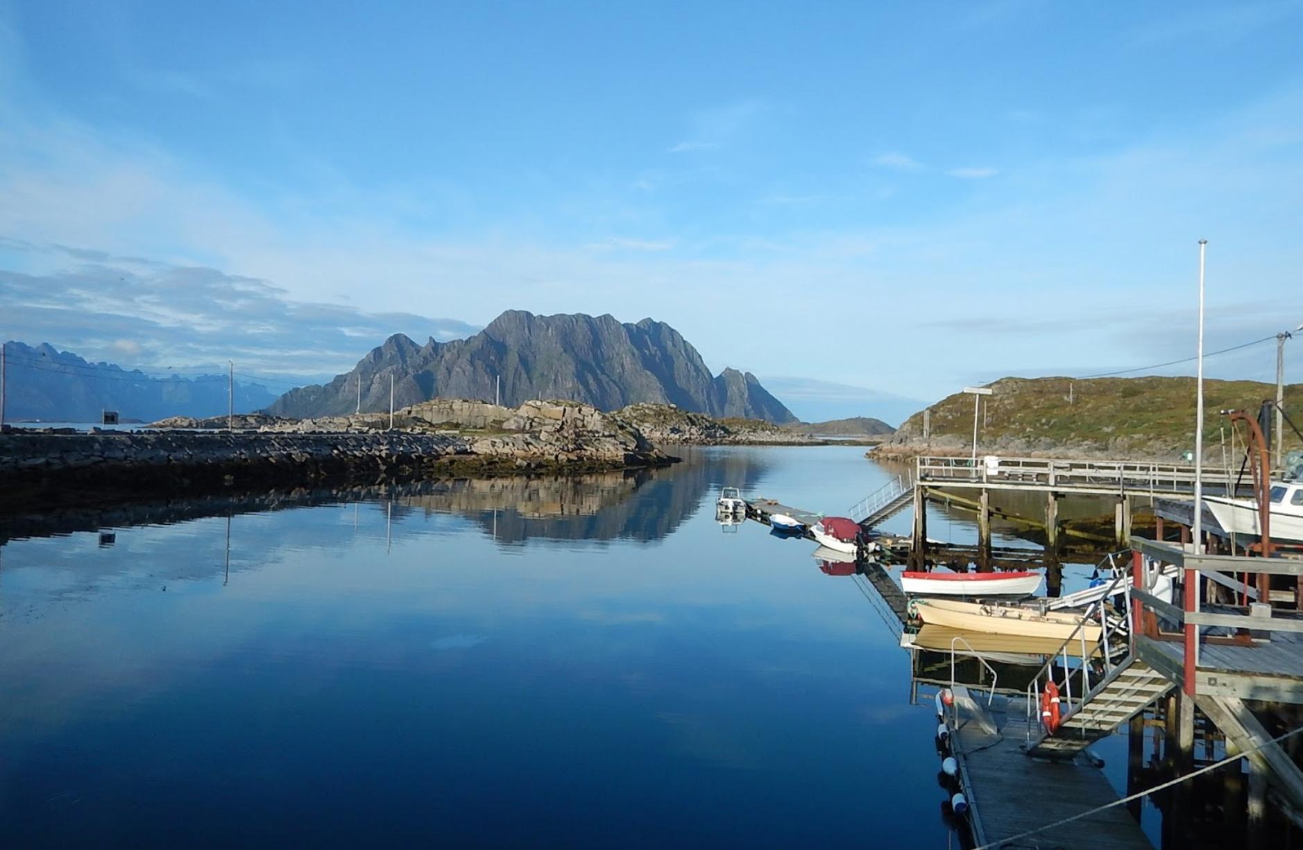 Skrova, Lofoten Islands in Northern Norway.Photo by:François & Valérie