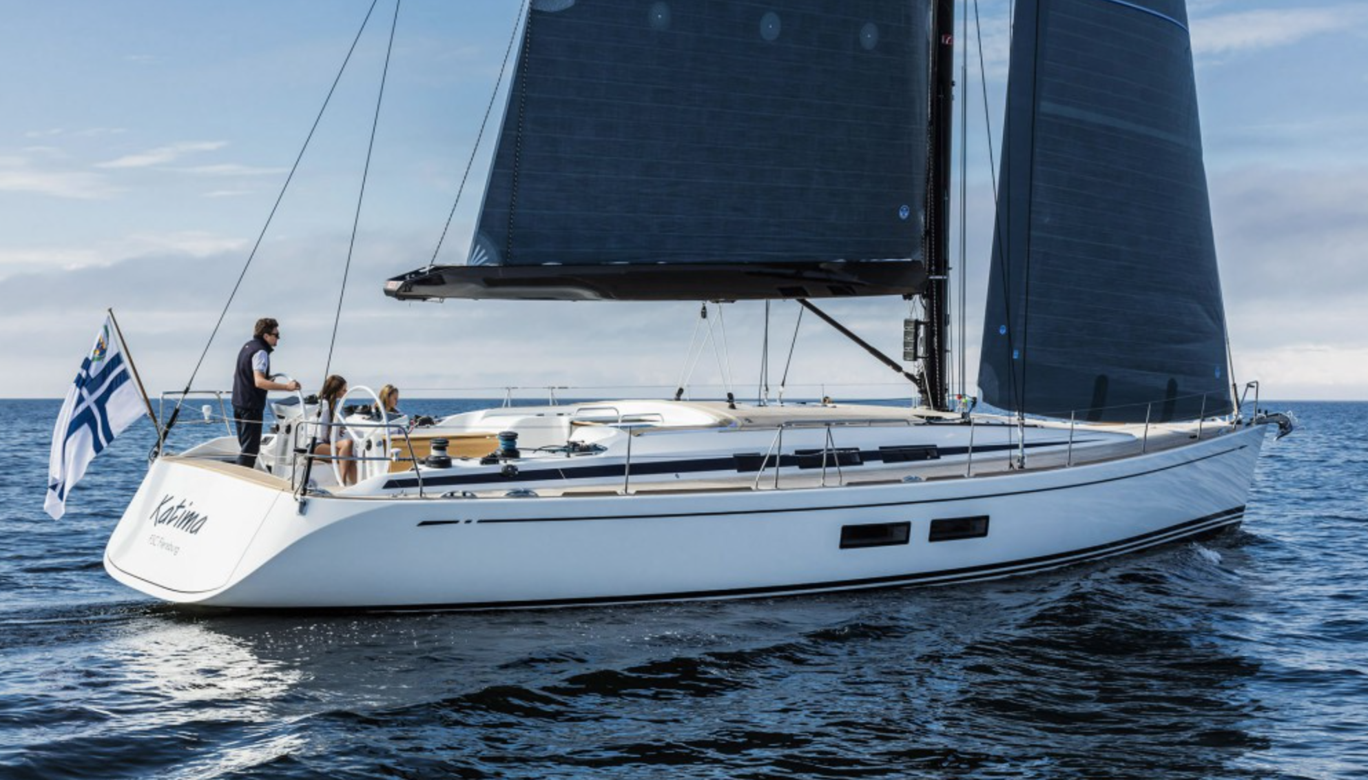 Nautor`s Swan 54. A dream yacht for many. Photo: Nautors Swan