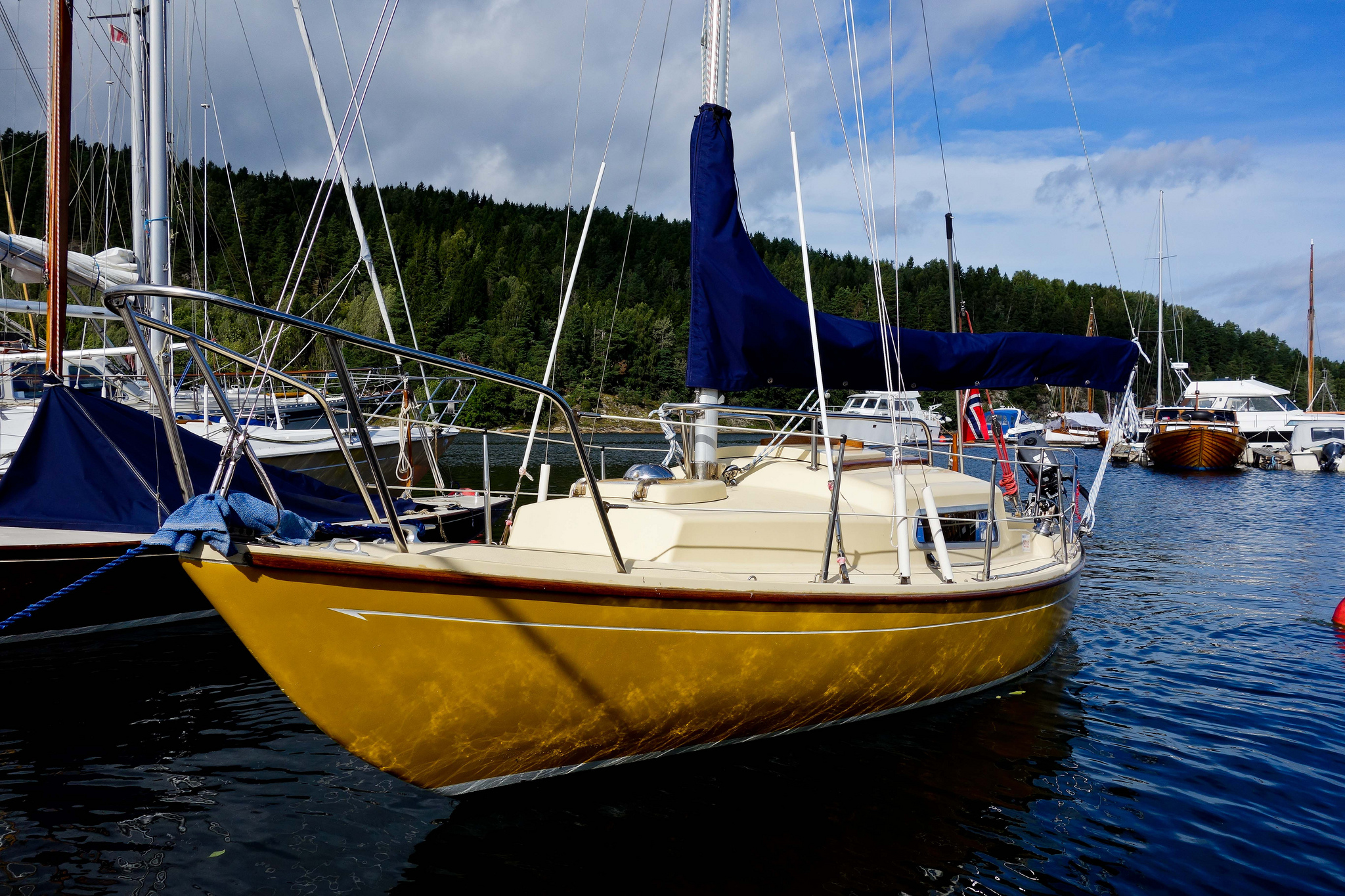 A fine example of the Corribee 21 in Norway. Photo by: Daniel Novello