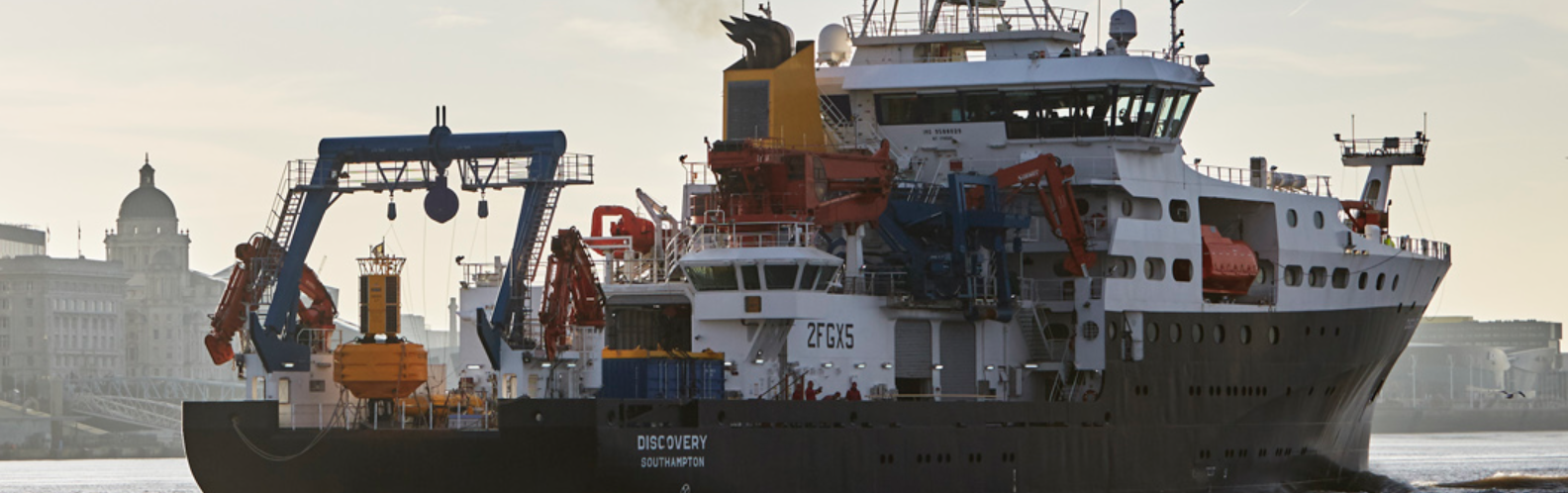 RSS Discovery. Photo by: National Oceanography Centre