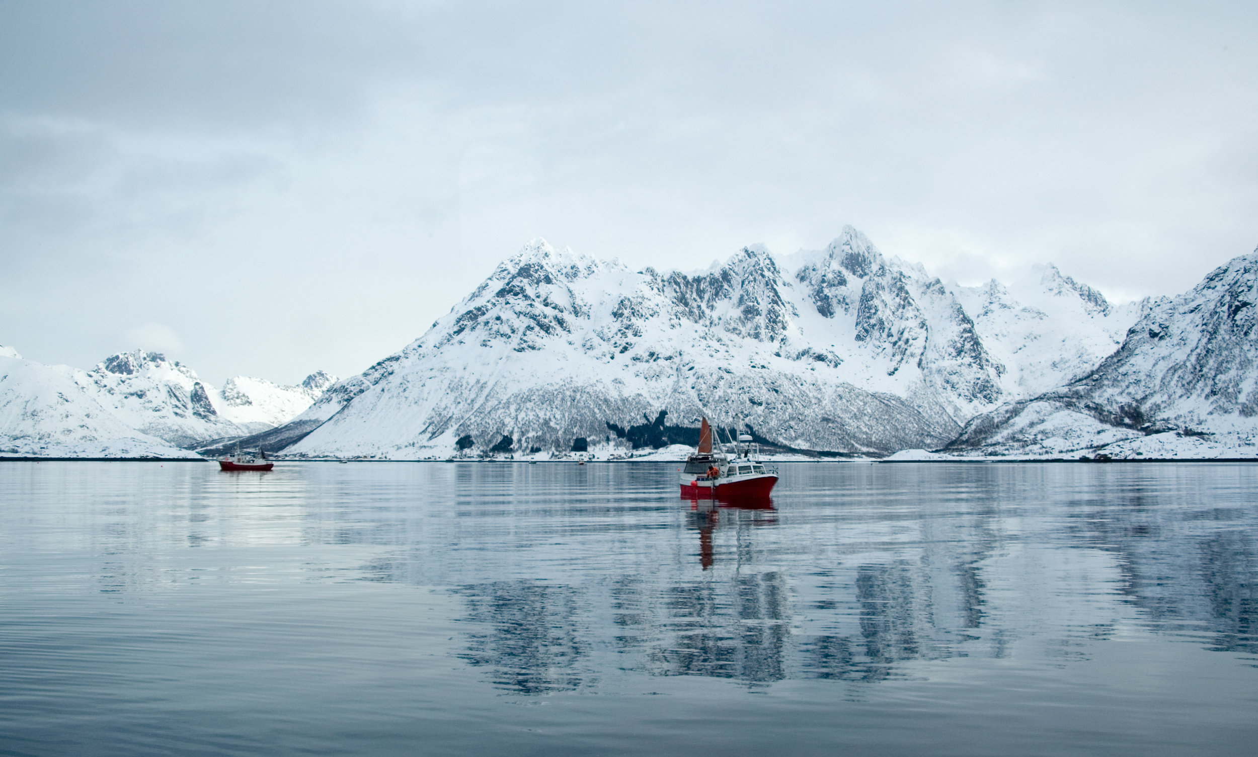 Fishing boats in the North of Norway. Photo by:Fredrik Myhre / WWF-Norway