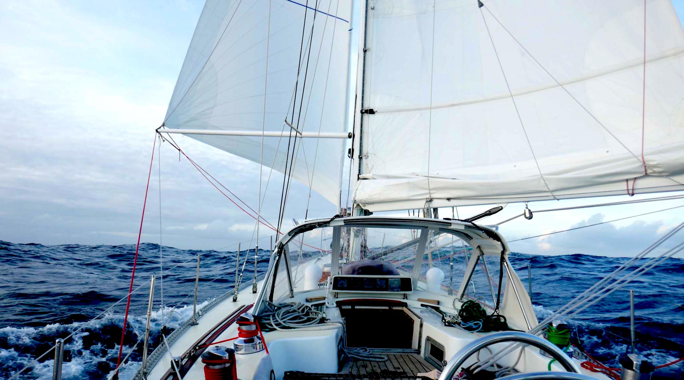 Downwind sailing.Photo:  59º North