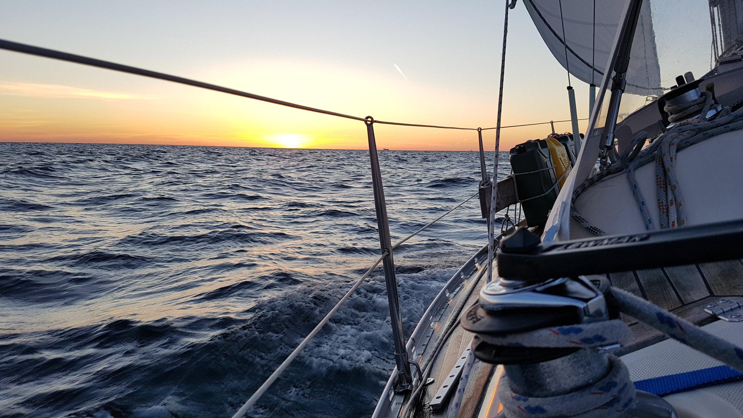 "Sunrise on the Baltic Sea. Photo by: Kari ""Ruffe"" Nurmi"