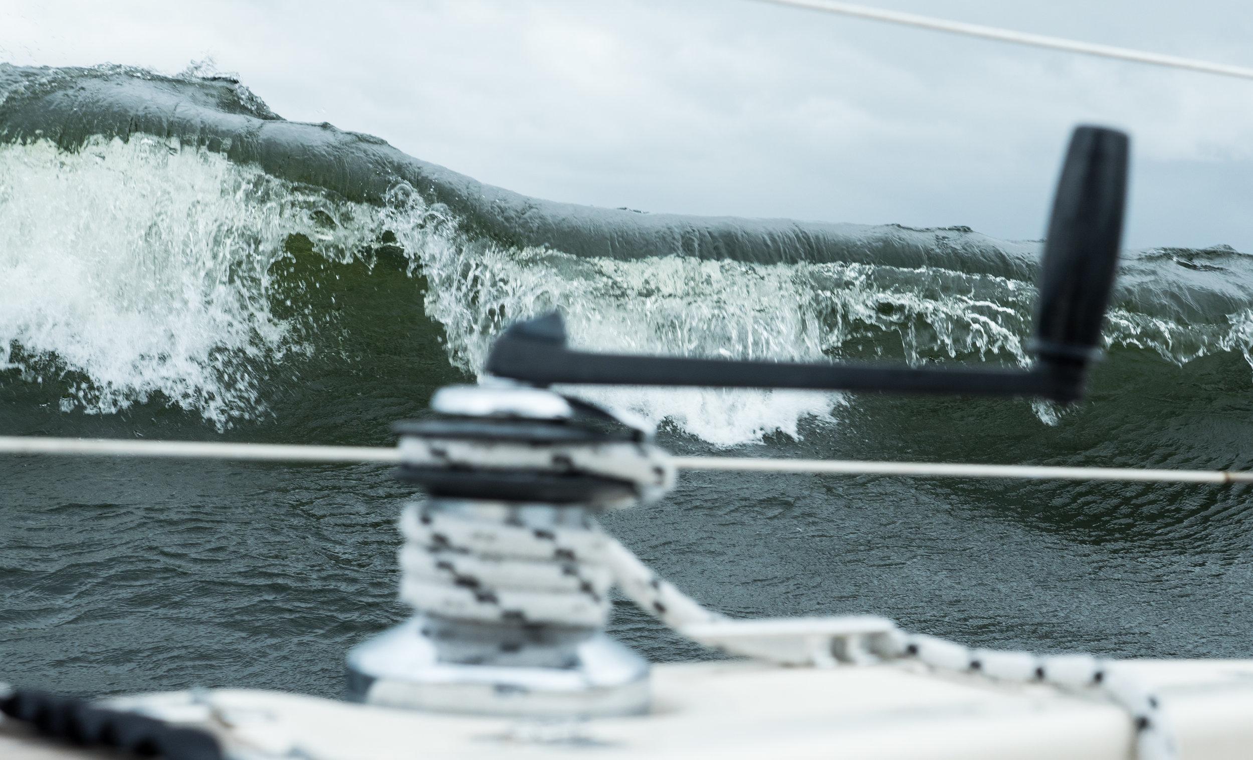 "Breaking Wave in the Baltic Sea. Photo by: Kari ""Ruffe"" Nurmi"