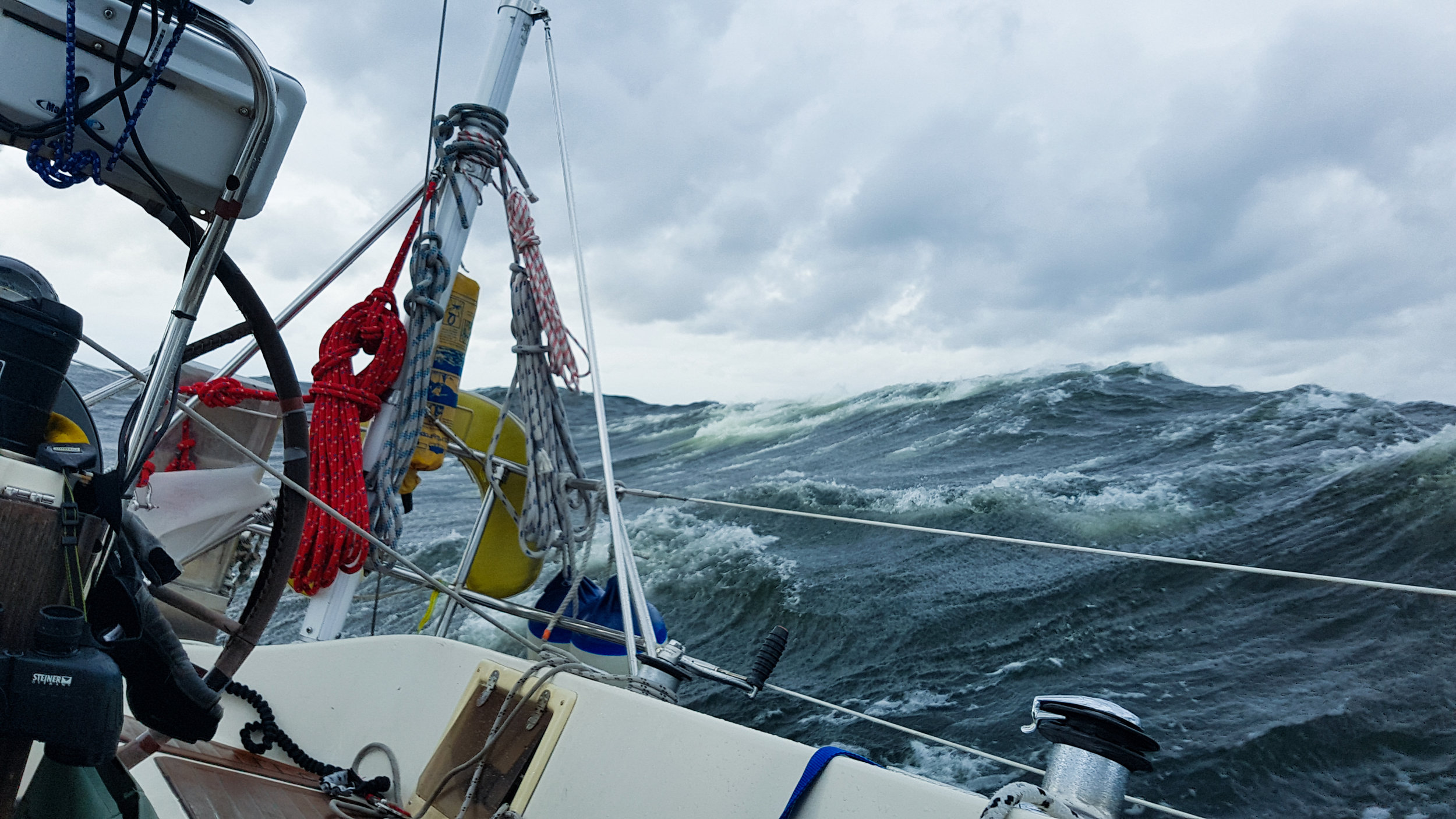 "Stormy Seas in the Baltic Sea. Photo by: Kari ""Ruffe"" Nurmi"