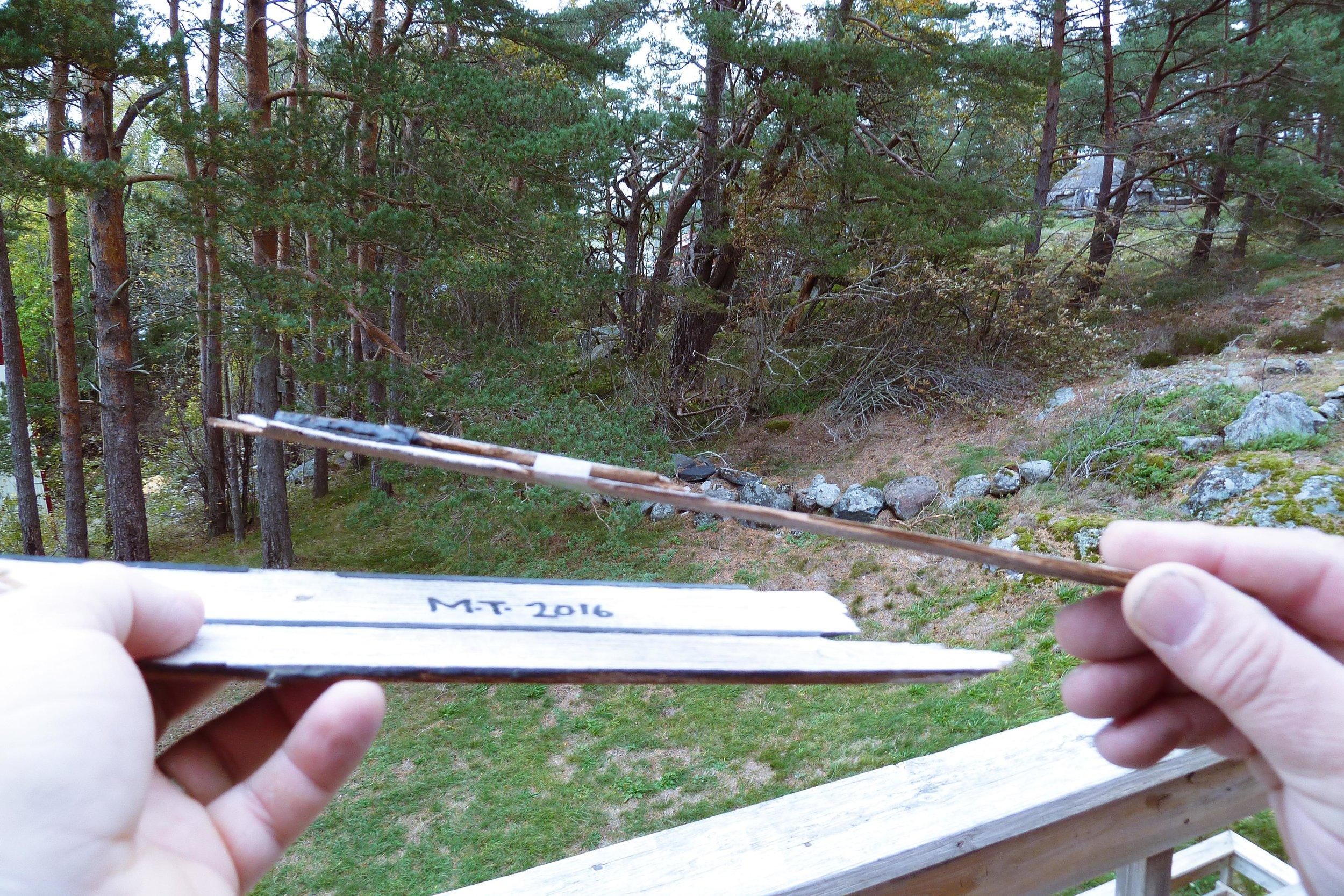 Bits of the teak deck on Mahina Tiare 111. Probably the longest milage on a Hallberg Rassy teak deck ever. Photo by: Daniel Novello