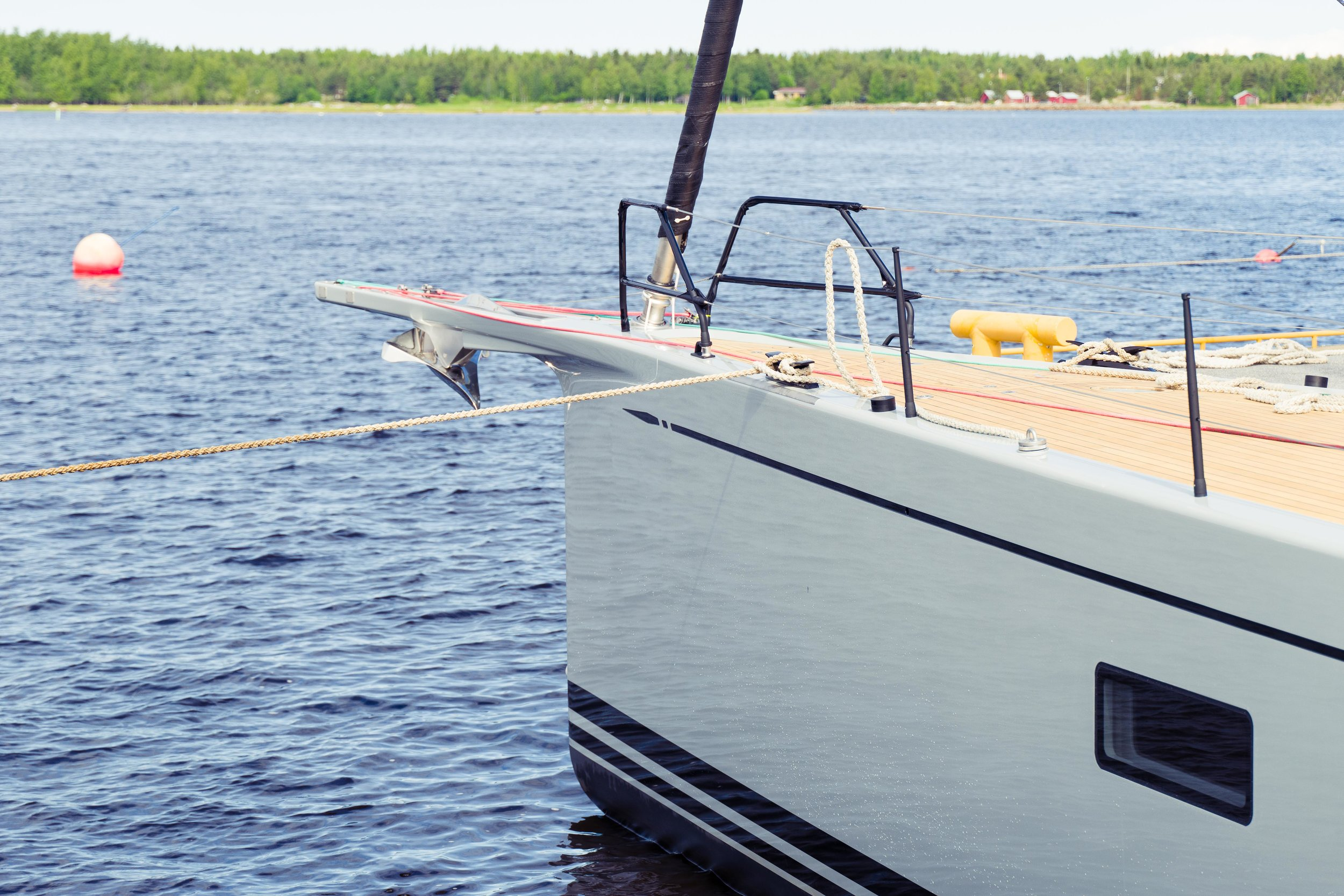 A brand spanking new Swan 78, will you own or lease your next boat? Photo by Daniel Novello