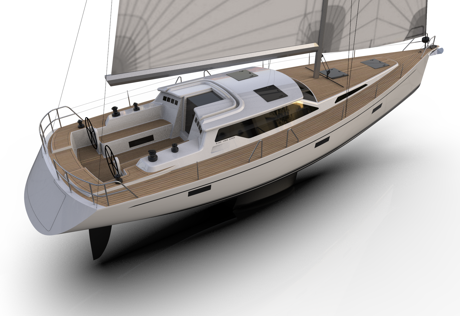 A new flagship from CR Yachts - The 490 Deck Saloon