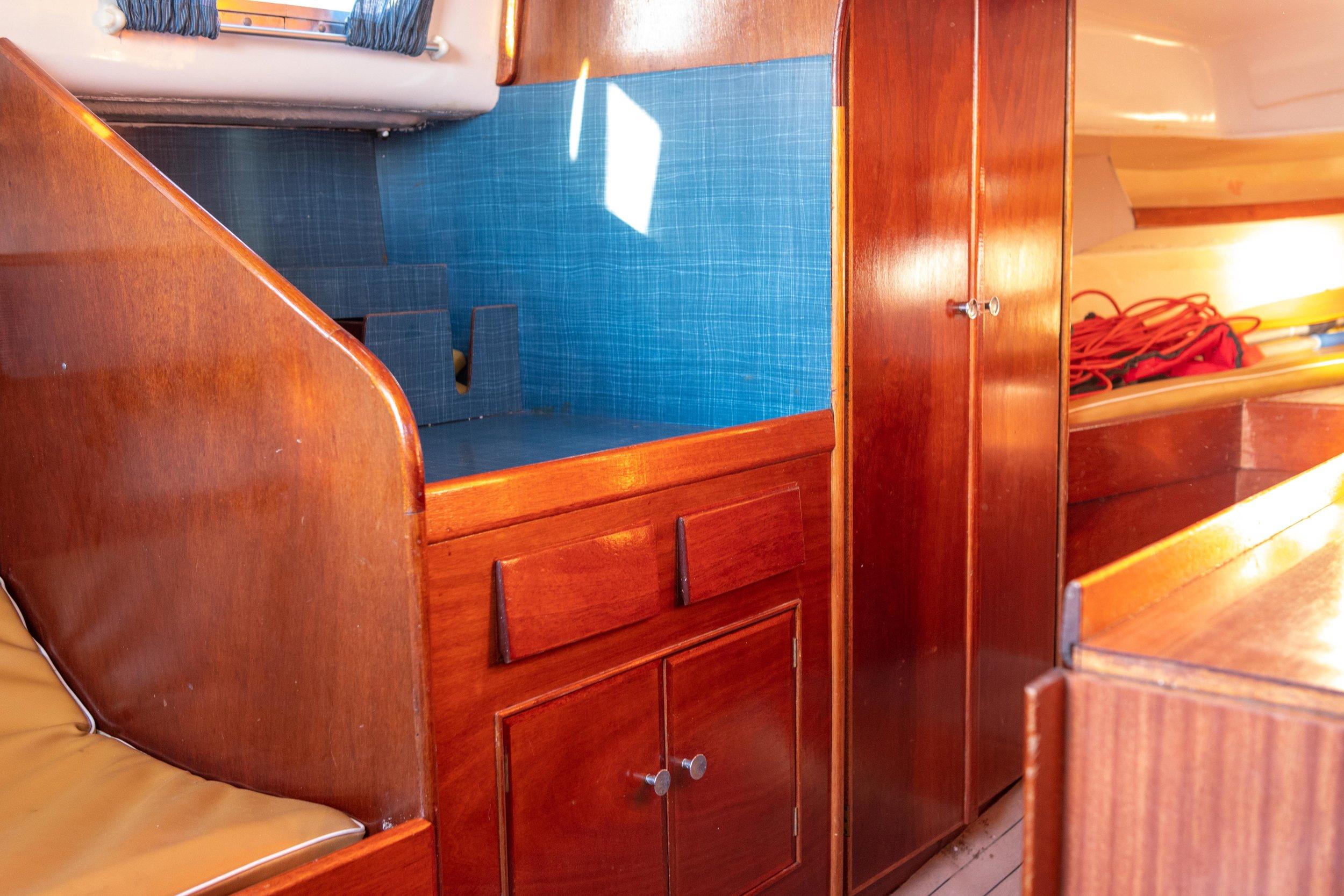 The Contessa 26 Cabin. Photo: Daniel Novello