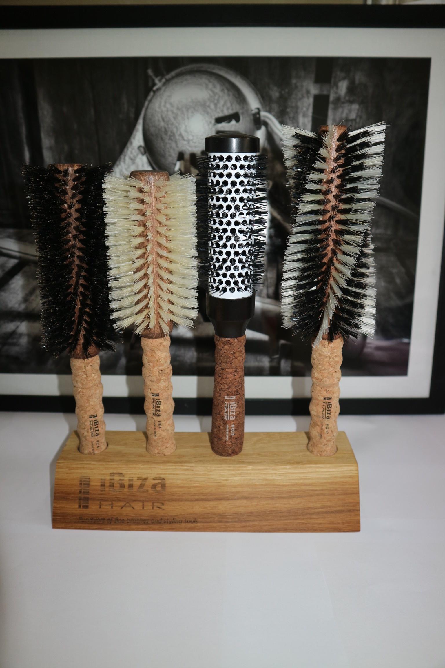 Our 4 favourite hair brushes - The Ibiza Hair Z4, B4, CC3 & G17.