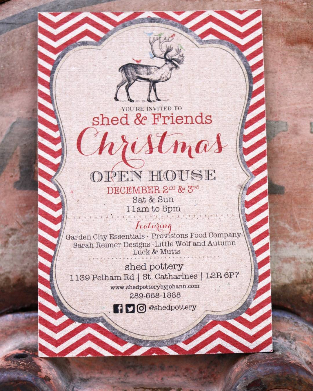 Shed Pottery  & Friends Christmas Open House