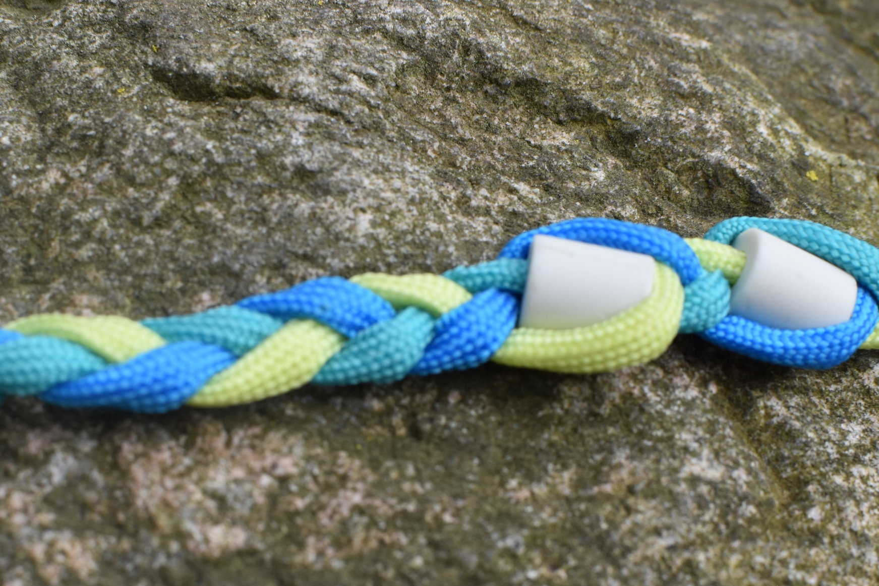 Bright Blue Paracord, Sea Green Paracord, Neon Yellow Paracord