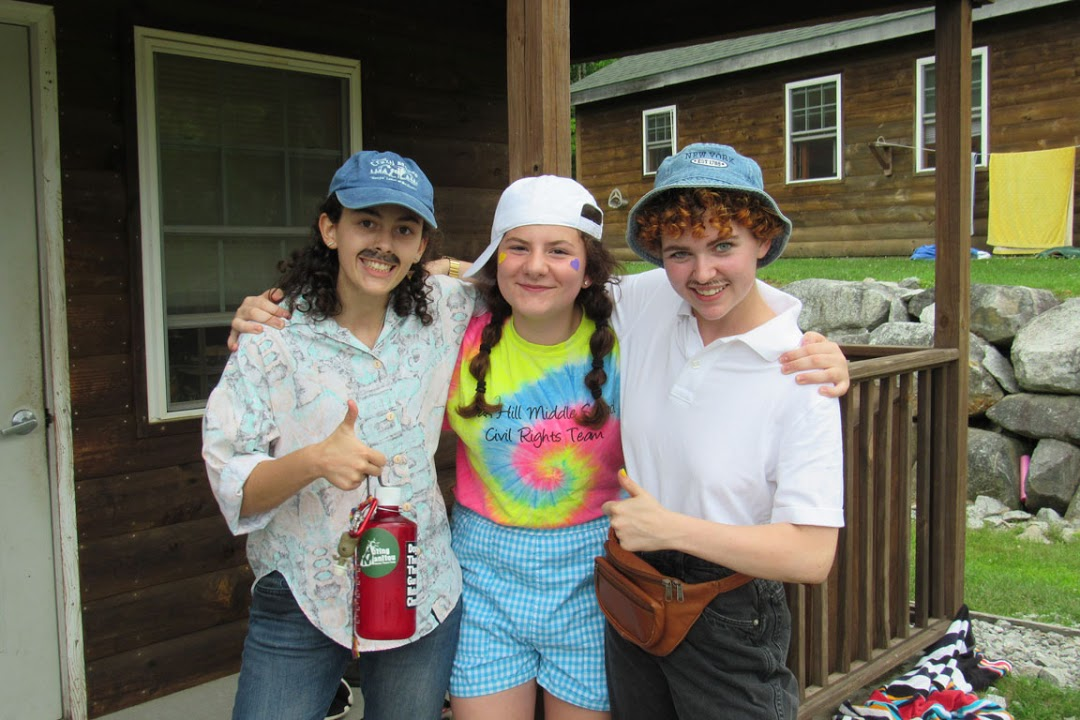 Emma L., Amara B. and Ella W. this past summer!