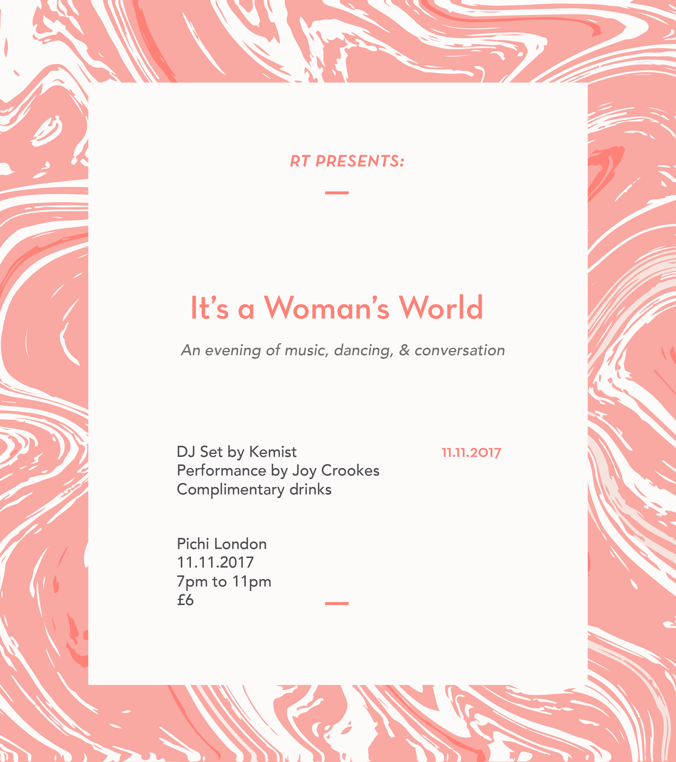 Roundtable presents: It's a Woman's World