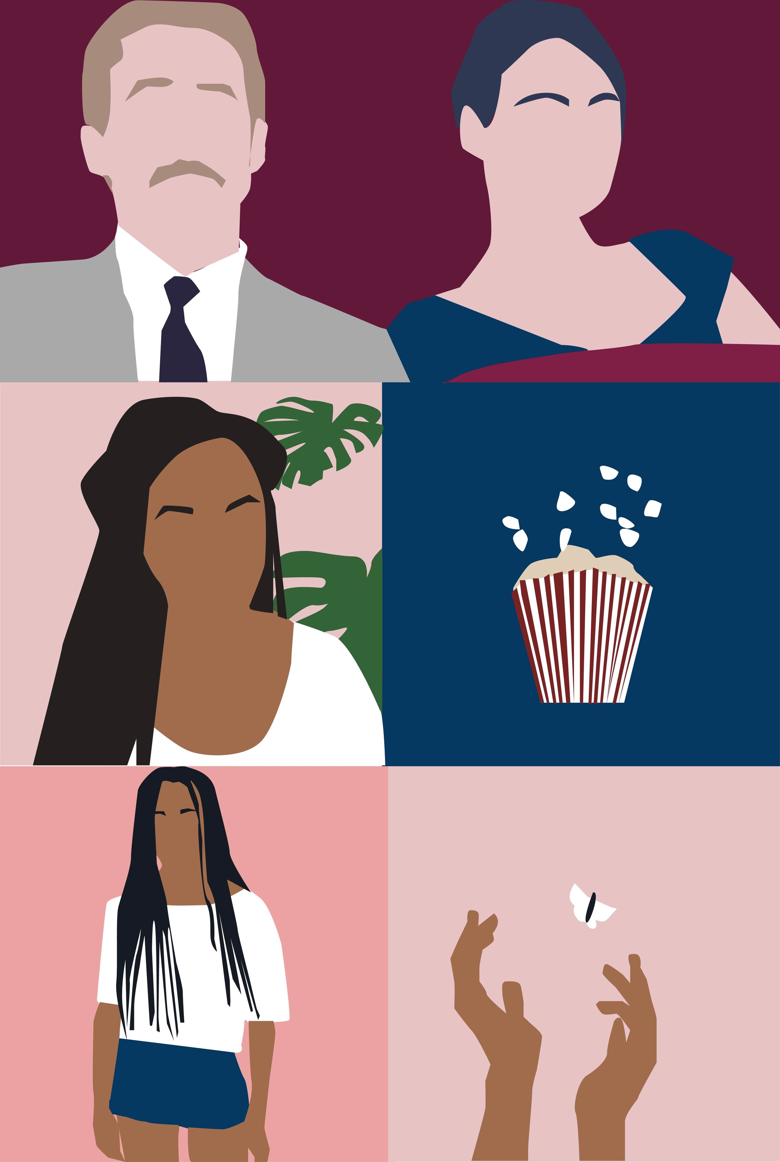 Illustrations by  Helena Ravenne