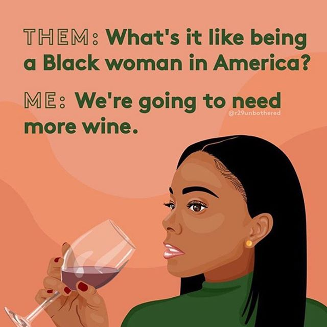 There will never be enough wine for this conversation, but we can certainly get it started. Join us at our upcoming event for insightful dialogue on the social and cultural issues that face Black women in creative industries. Our issue 02 cover star @tony_gum will be speaking to the experiences that shaped her, her formidable body of work and how to make it as a young, Black, creative working today ✨ get your tickets now— link in bio (pic by @r29unbothered)